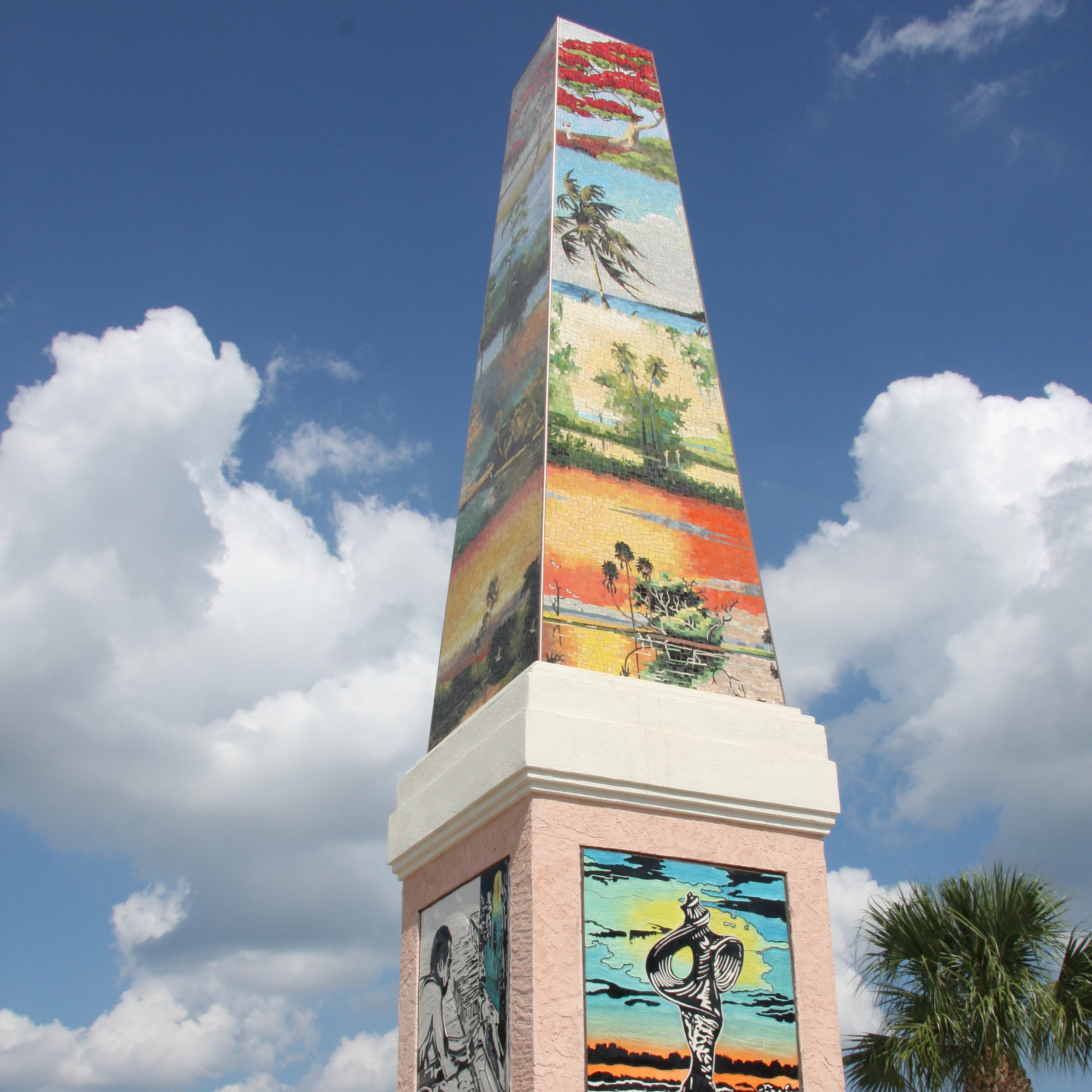 FLORIDA HIGHWAYMEN OBELISK – 2009