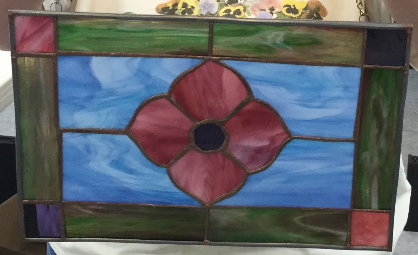 BEGINNING STAINED GLASS CLASS - This five week class will teach you how to build a stained glass panel using the copper foil method. Each student will chose from a variety of selected patterns. You will learn how to prepare your pattern, cut glass, foil and solder. Your piece will end up being framed in lead came. Either black or copper patina will be applied before doing the final cleaning. Class will be held Wednesday evenings from 6:30-9:00 at the Lake City Area Arts Center starting Sept 25 - Oct 30 (no class Oct 2nd).Class limit 10Class fee: $75Supply fee: $30.00 (includes all supplies you need for your project, except glass and tools).Tools needed:Glass cutter100 watt soldering ironGrozing pliersIf you would like me to get any of these tools for you, let me know at least 2 weeks before the first class. I also have a large selection of glass available for purchase.I will send out pattern choices and more information when you have registered. Please include an email address or phone number.Thank you,Nancy ZimmermannThe Glass Garden708 N. Garden St.Lake City, MN 55041651-345-4095Email at: njzimm1@gmail.com