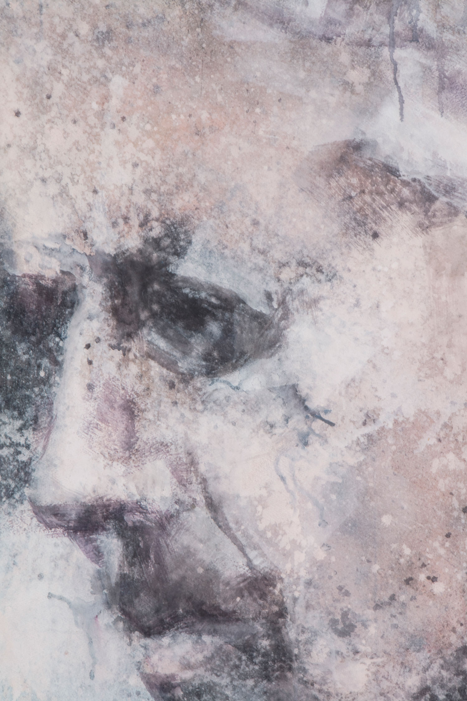 Self-portrait IV - detail