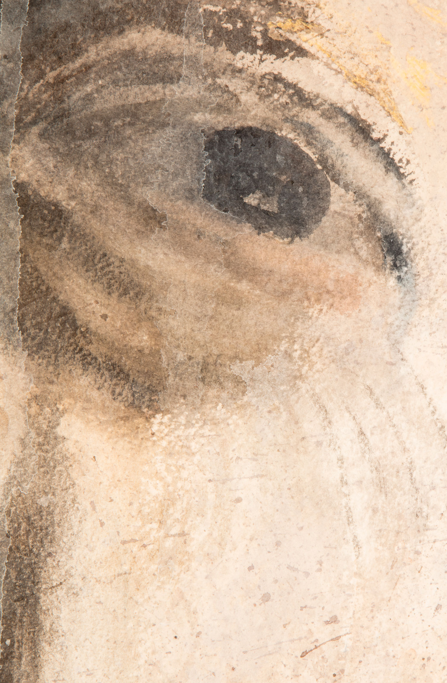 Self-portrait II - detail