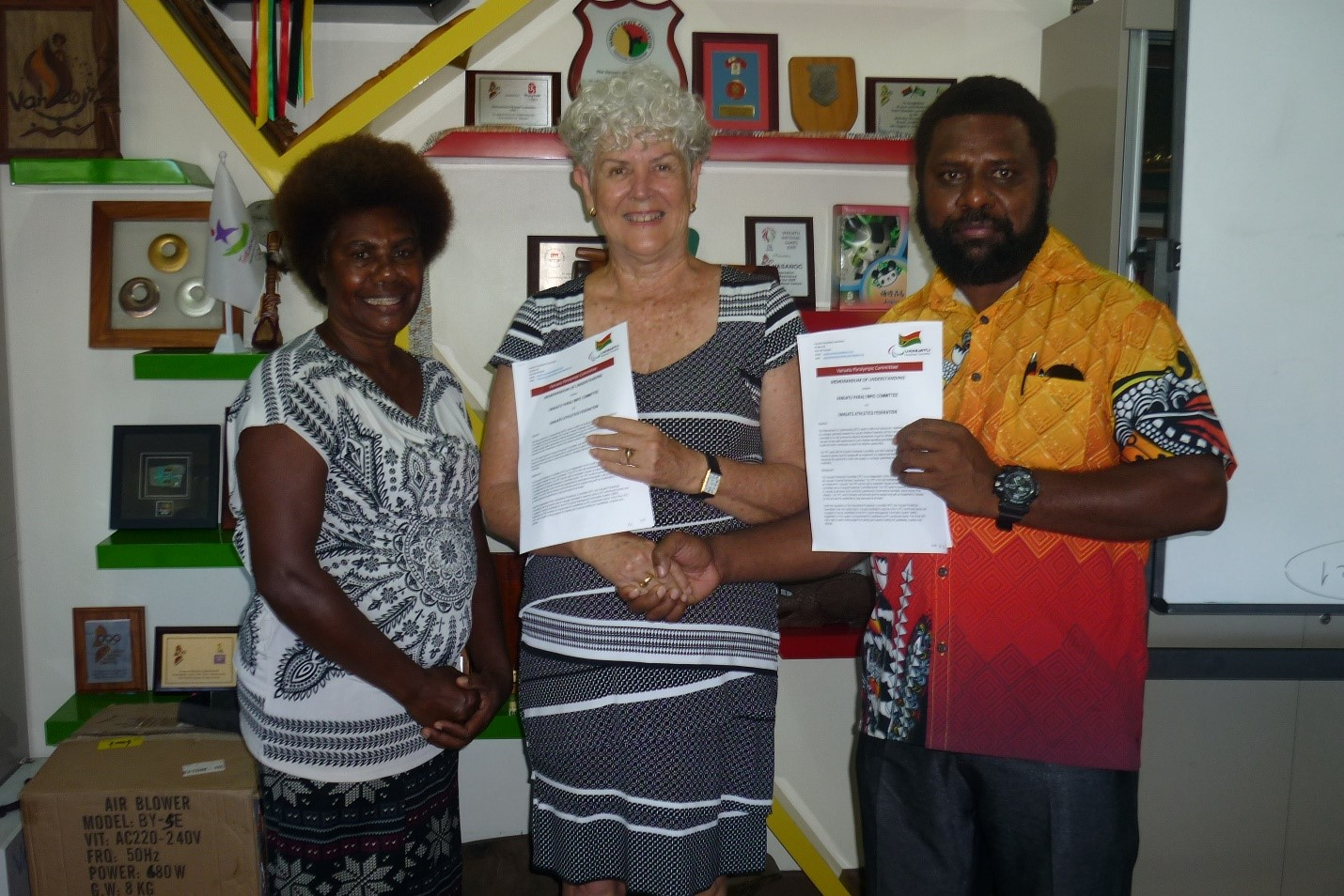 MOU signed between Vanuatu Paralympic Committee and Vanuatu Athletics Federation - Following the recent success of the Melanesian Athletics Championships hosted by the newly reconstituted Vanuatu Athletics Federation (VAF), a Memorandum of Understanding (MOU) has been signed with the Vanuatu Paralympic Committee (VPC)...