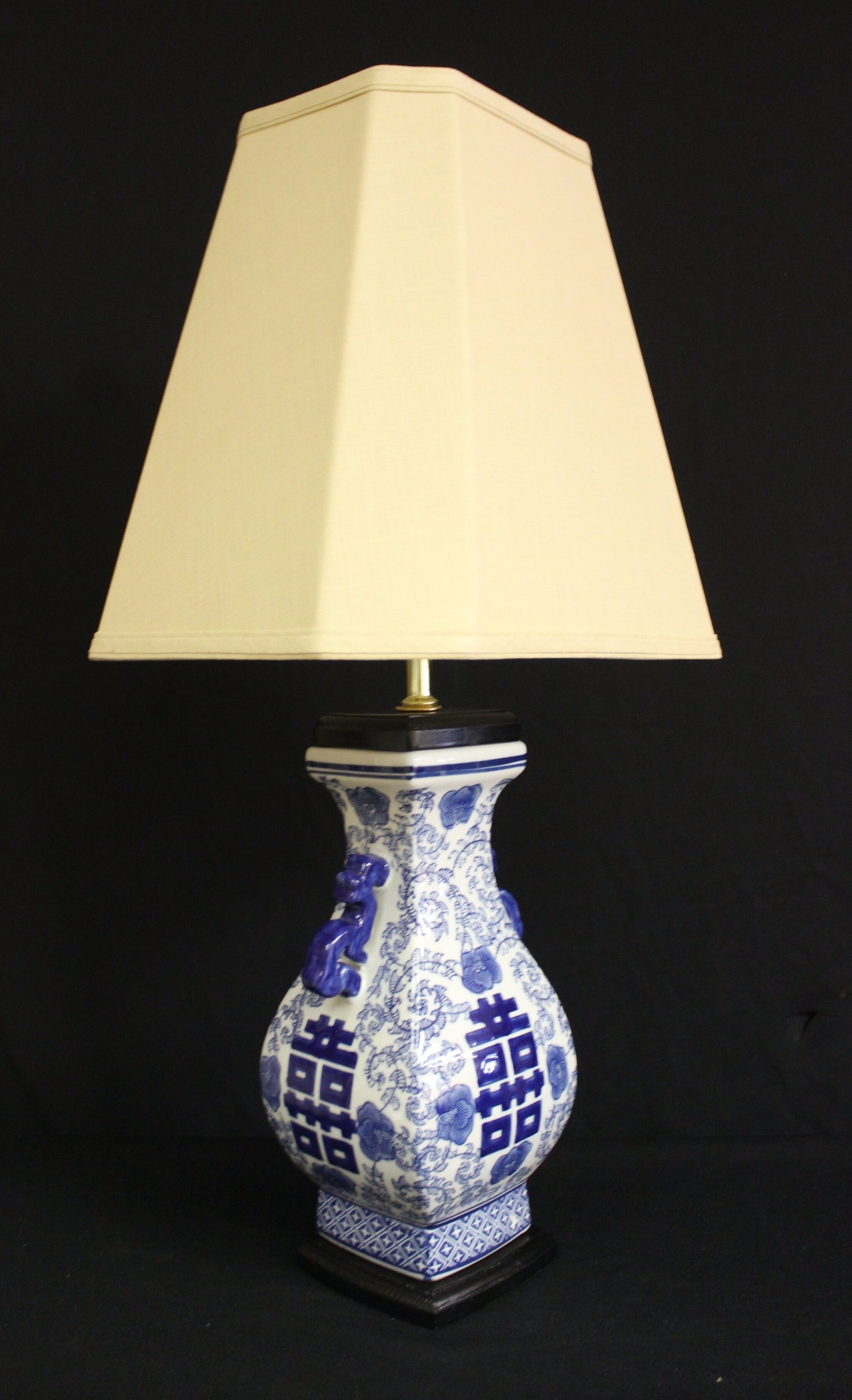 Shown with #600 Beige Linen Lampshade Option
