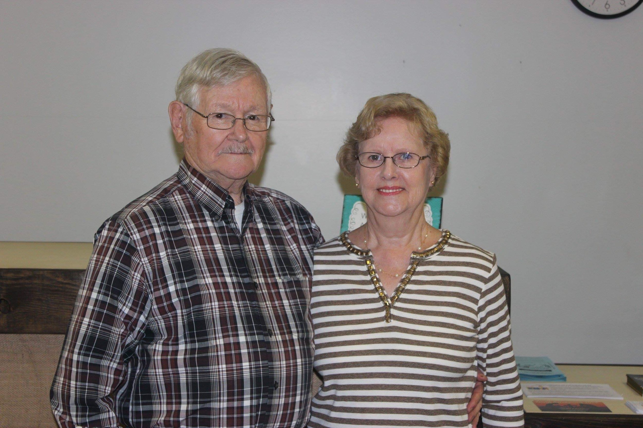 Harlie Harris Sr. - Visitation Pastor (Pictured with his wife, Reva)