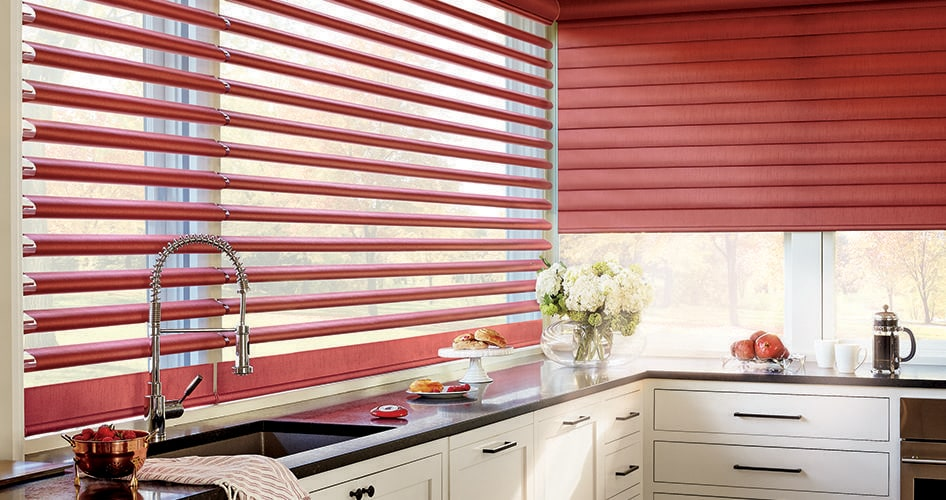 Cook up ideas for kitchen window treatments - Cardinal Blinds & Shutters