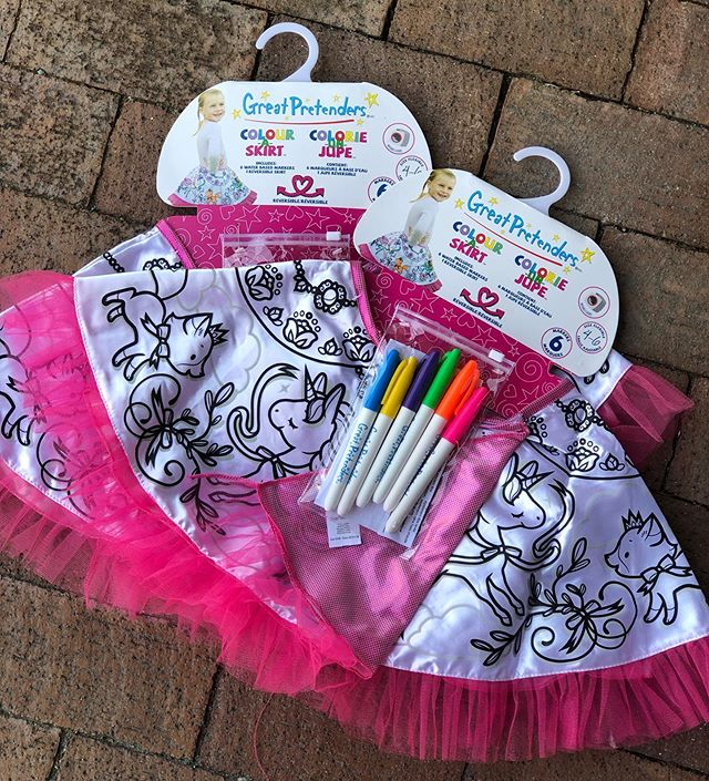 happy Saturday! from arts & crafts to the perfect party gift: these color your own skirts are always a hit!