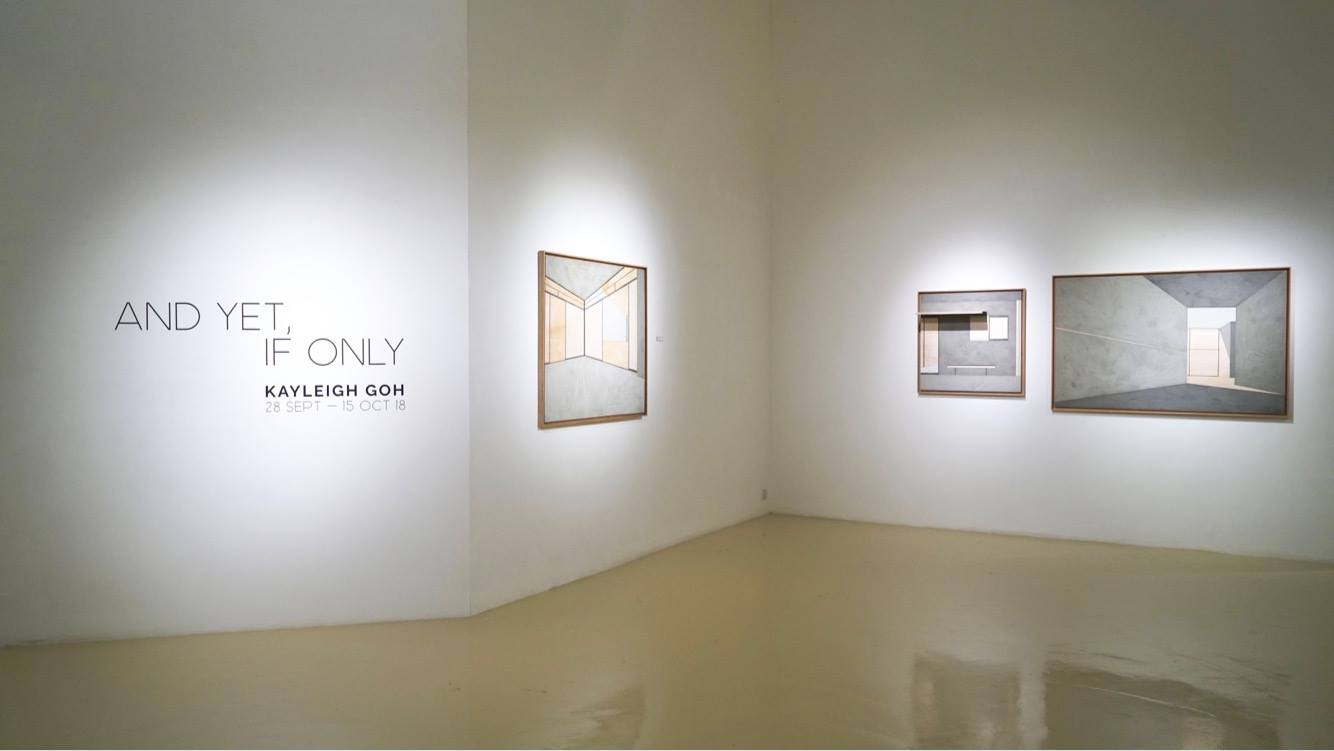 Installation view of 'And Yet, If Only'. Image courtesy of Gajah Gallery.