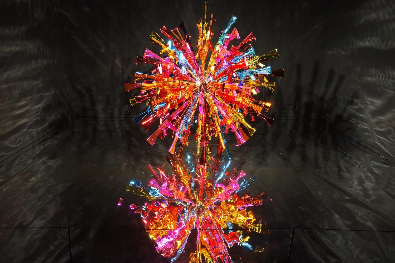Choi Jeong Hwa, 'Shot Guns', 2018. Image courtesy of Bangkok Art Biennale.