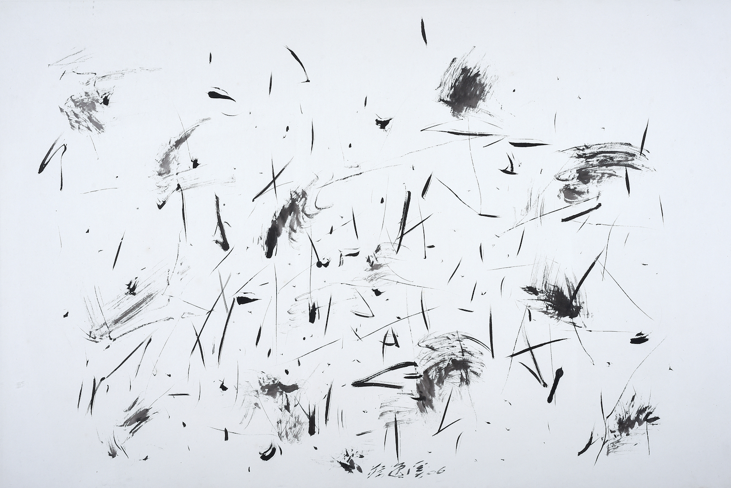 Chua Ek Kay, 'Lotus Pond' Series, 2006, ink on paper, 99 x 146 cm. Image courtesy of Art Agenda, S.E.A.