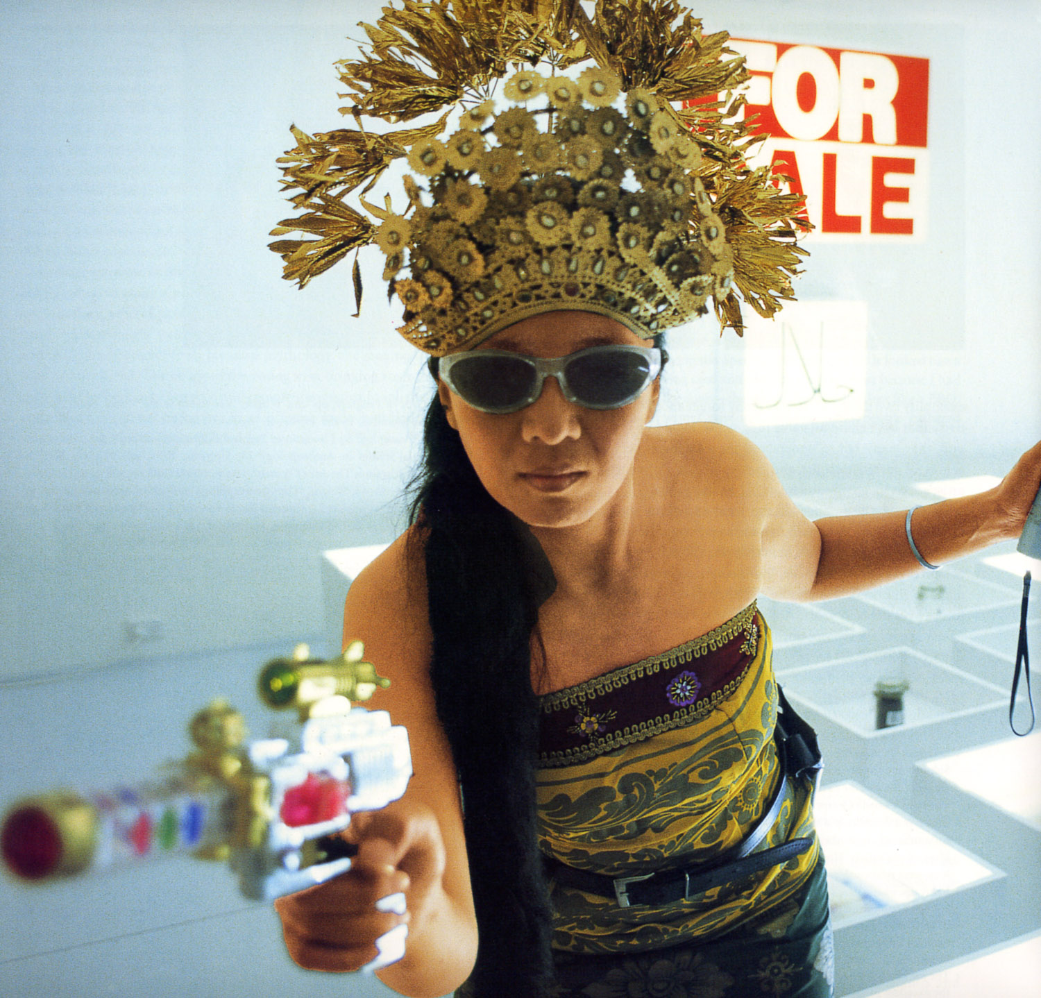 Arahmaiani, 'Handle without Care', 1996-2017, Performance at the 2nd Asia Pacific Triennial, Queensland Gallery of Modern Art, Brisbane, Australia, 1996. Image courtesy of the artist.