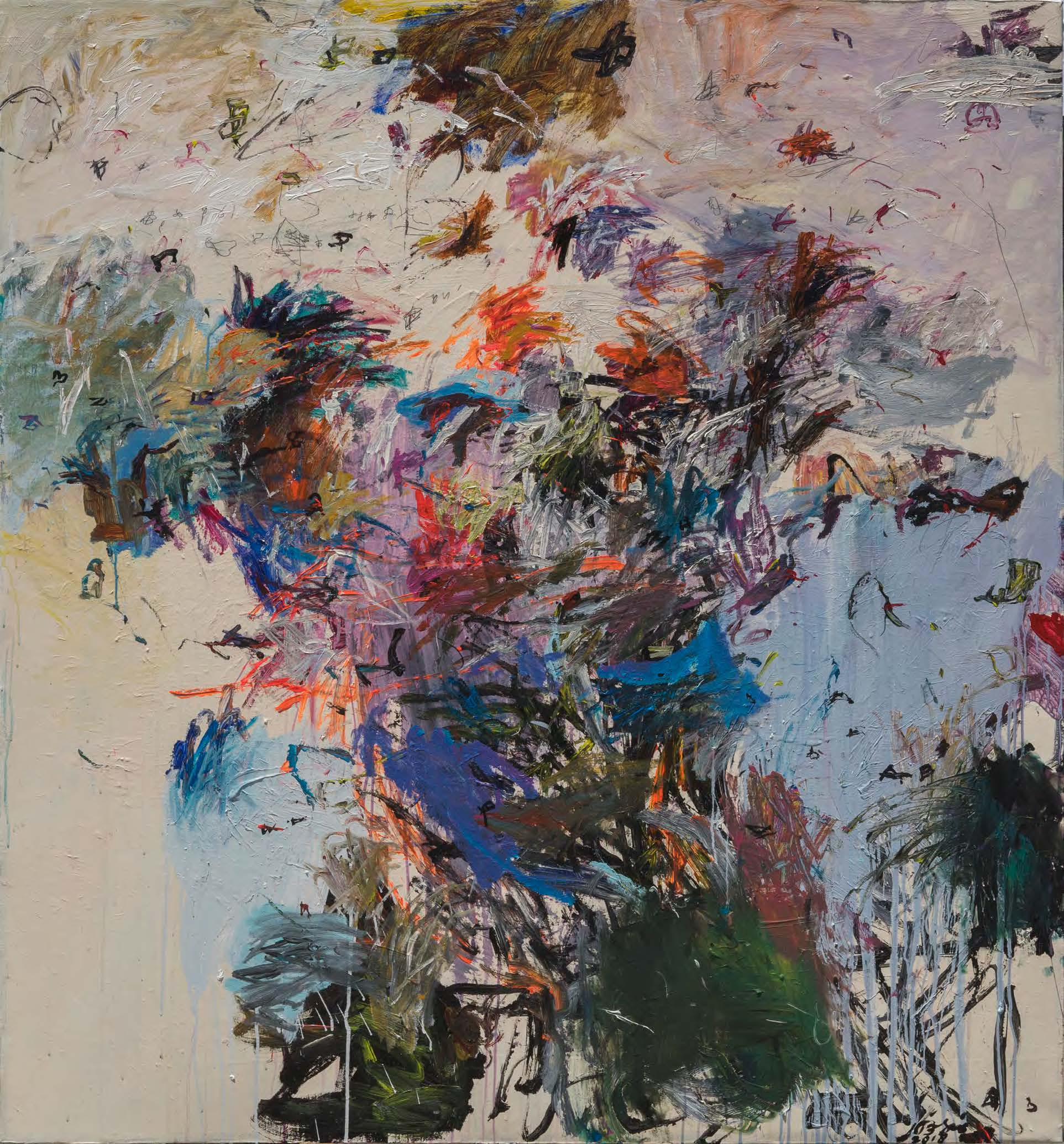 Gajah Gallery Presents Indonesian Abstract Expressionist Ibrahim