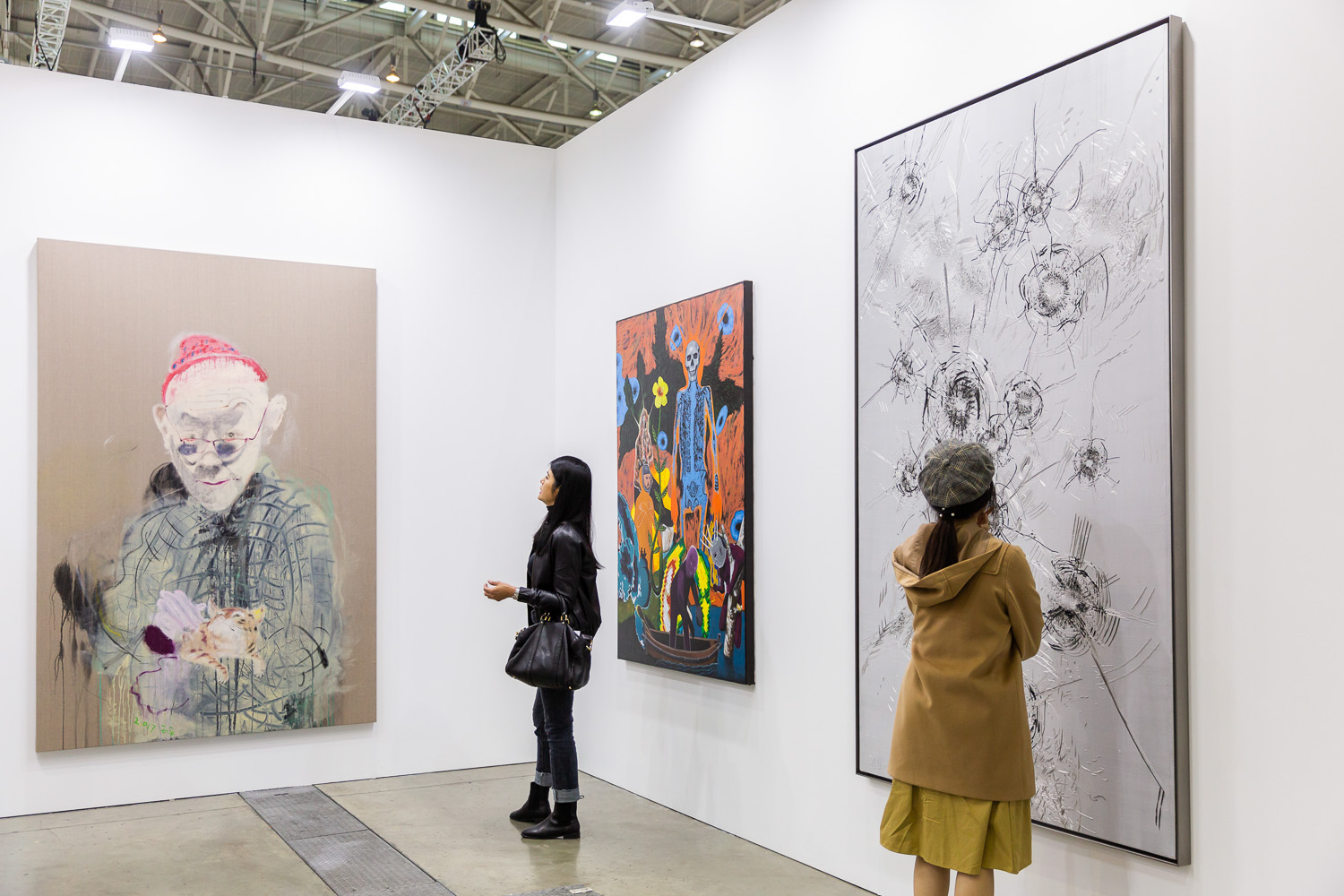 Installation view of Tang Contemporary's booth. Image courtesy of Taipei Dangdai.