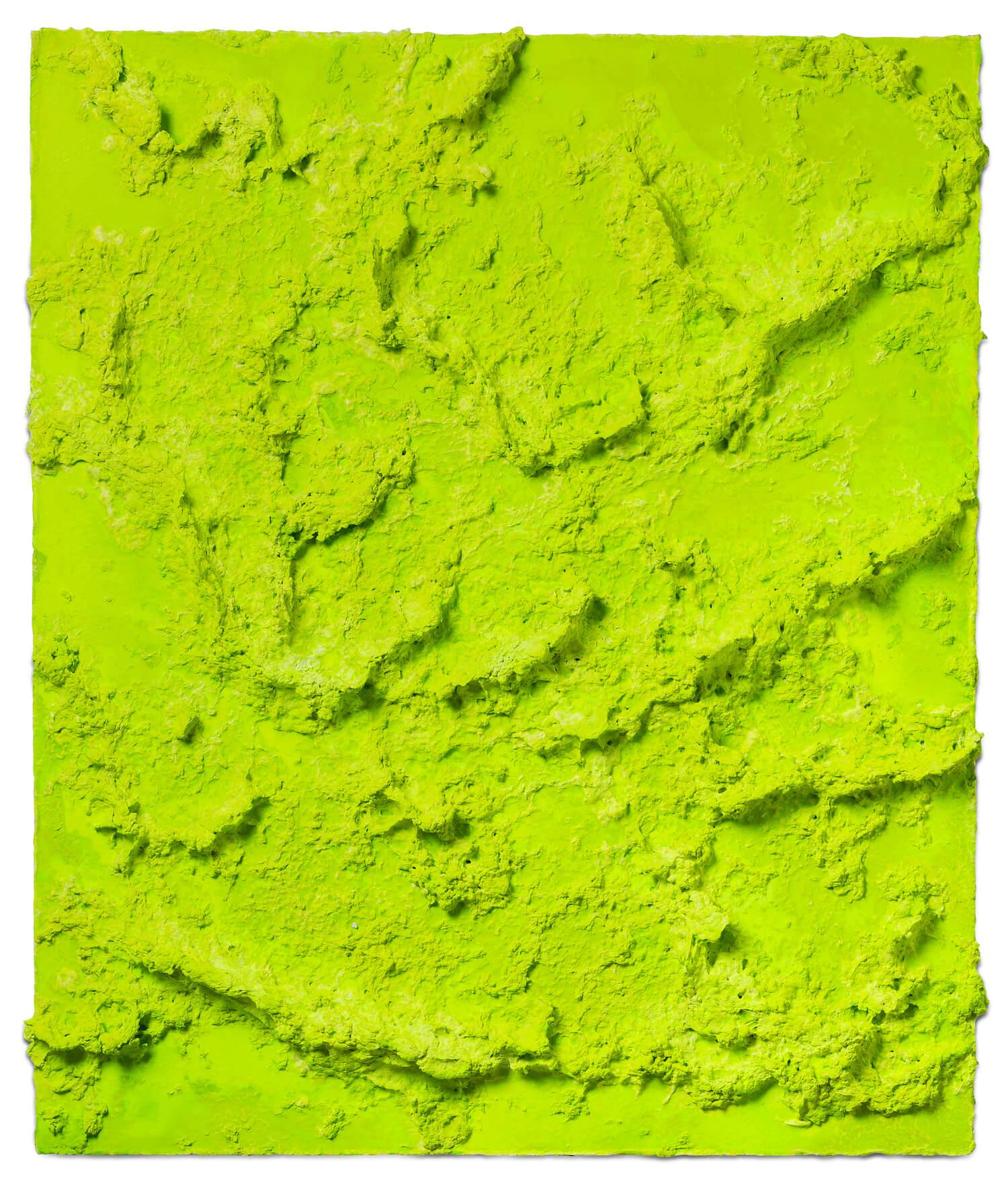 Jason Martin, 'Selvagem I', 2018, pulp and cel-vinyl on paper, 88 x 75 x 6cm. Image courtesy of STPI Gallery.