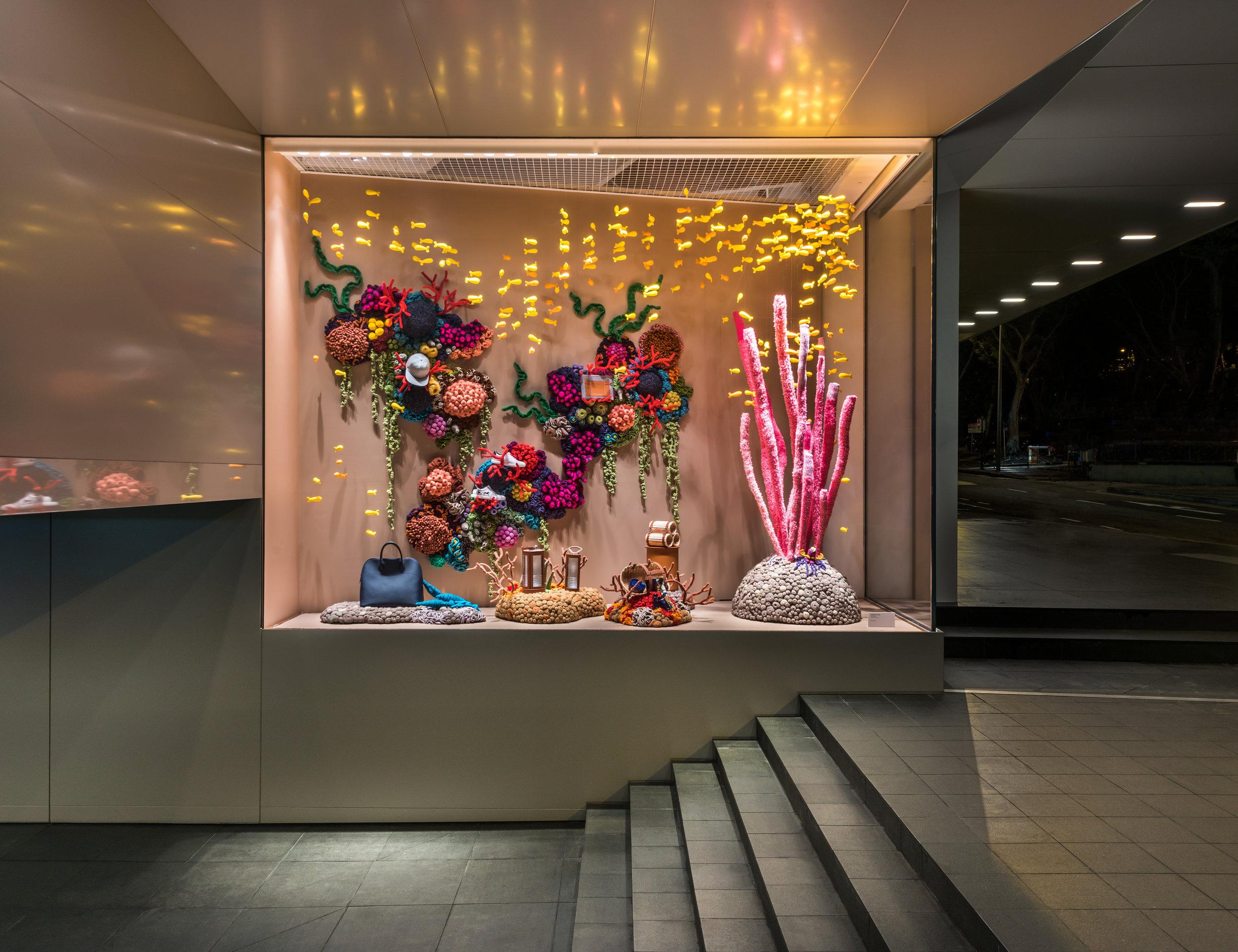 'Irama' by Mulyana for Hermès Liat Towers. Image by Edward Hendricks.