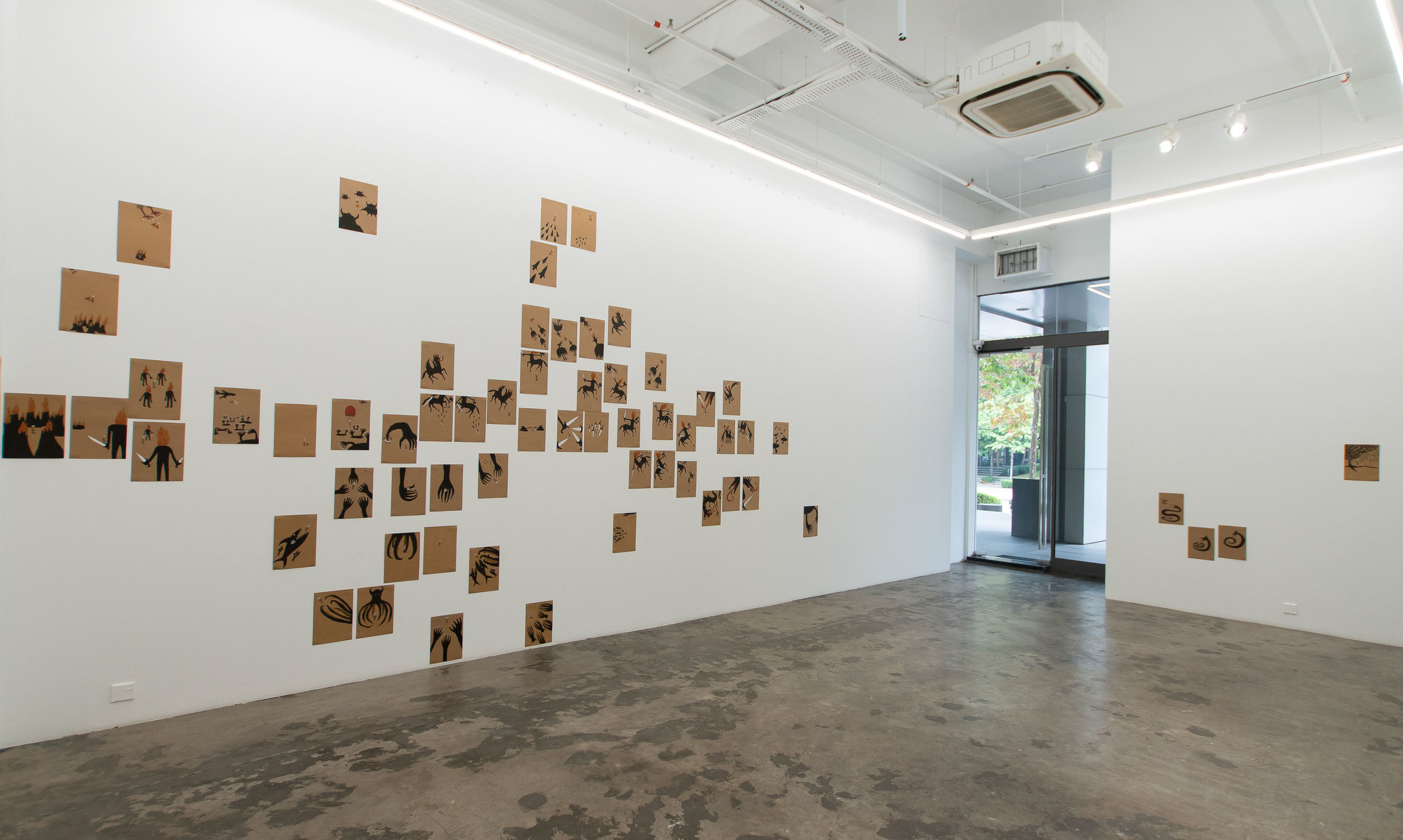 Roslisham Ismail (Ise), 'Till Kingdom Come', 2011, exhibition installation view. Image courtesy of A+ Works of Art.