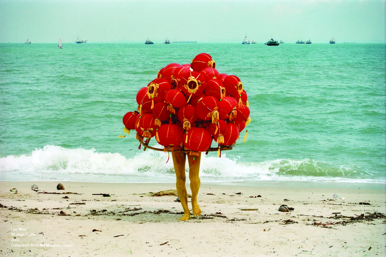 Lee Wen, 'Strange Fruits', 2003, C-print, set of 12, 42 x 59.4cm. Image courtesy of Kaohsiung Museum of Fine Arts.