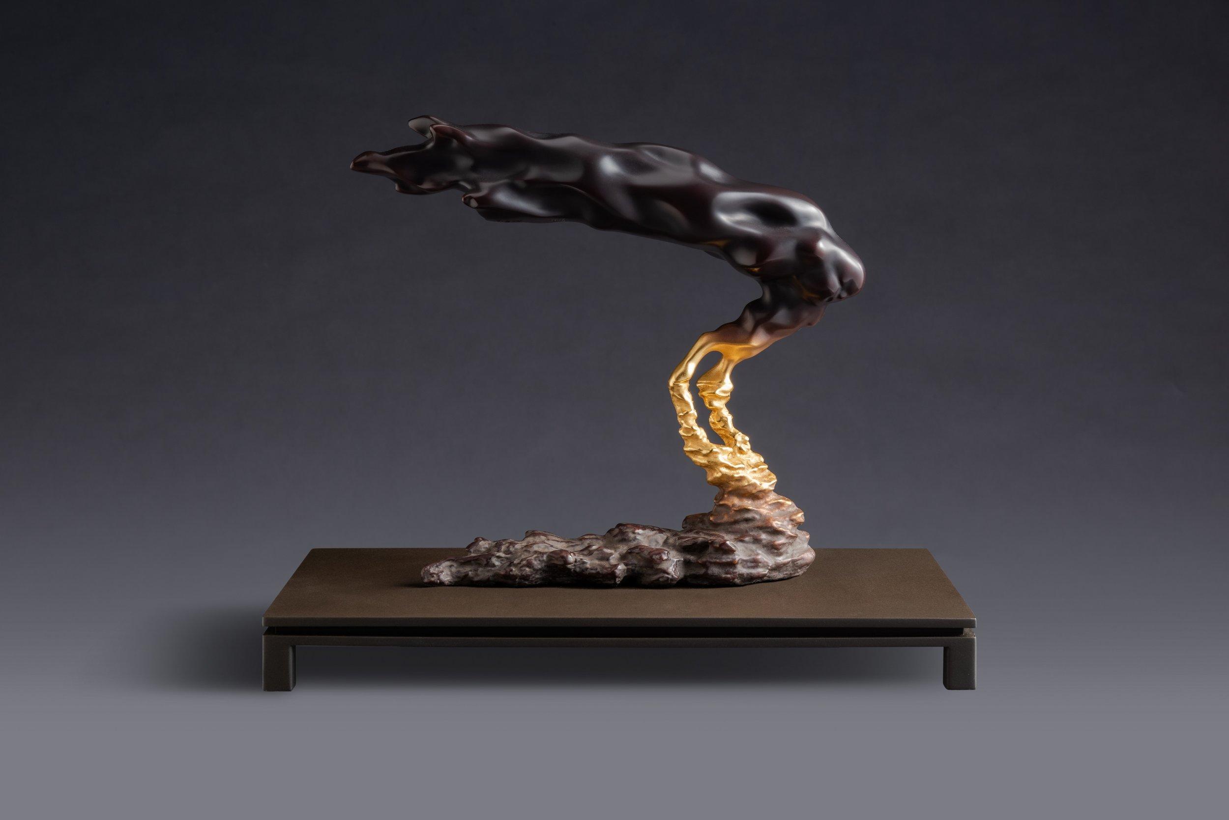 Li Chen, 'Eclipse ‧ Twilight Breeze', 2016, bronze, 30 x 16 x 25cm, edition of 30. Image courtesy of Art Agenda, S.E.A..
