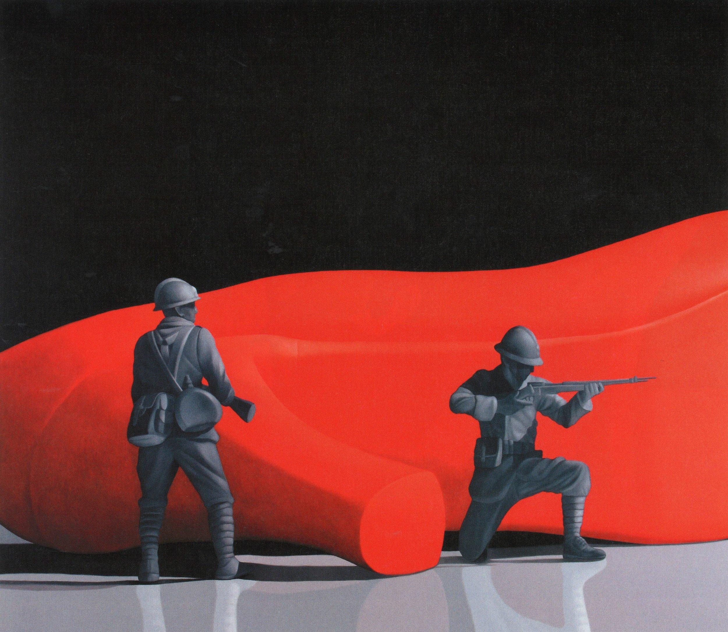 Natee Utarit, 'Dust Under the Shoe', 2010, oil on linen, 140 x 160cm. Image courtesy of Phillips.