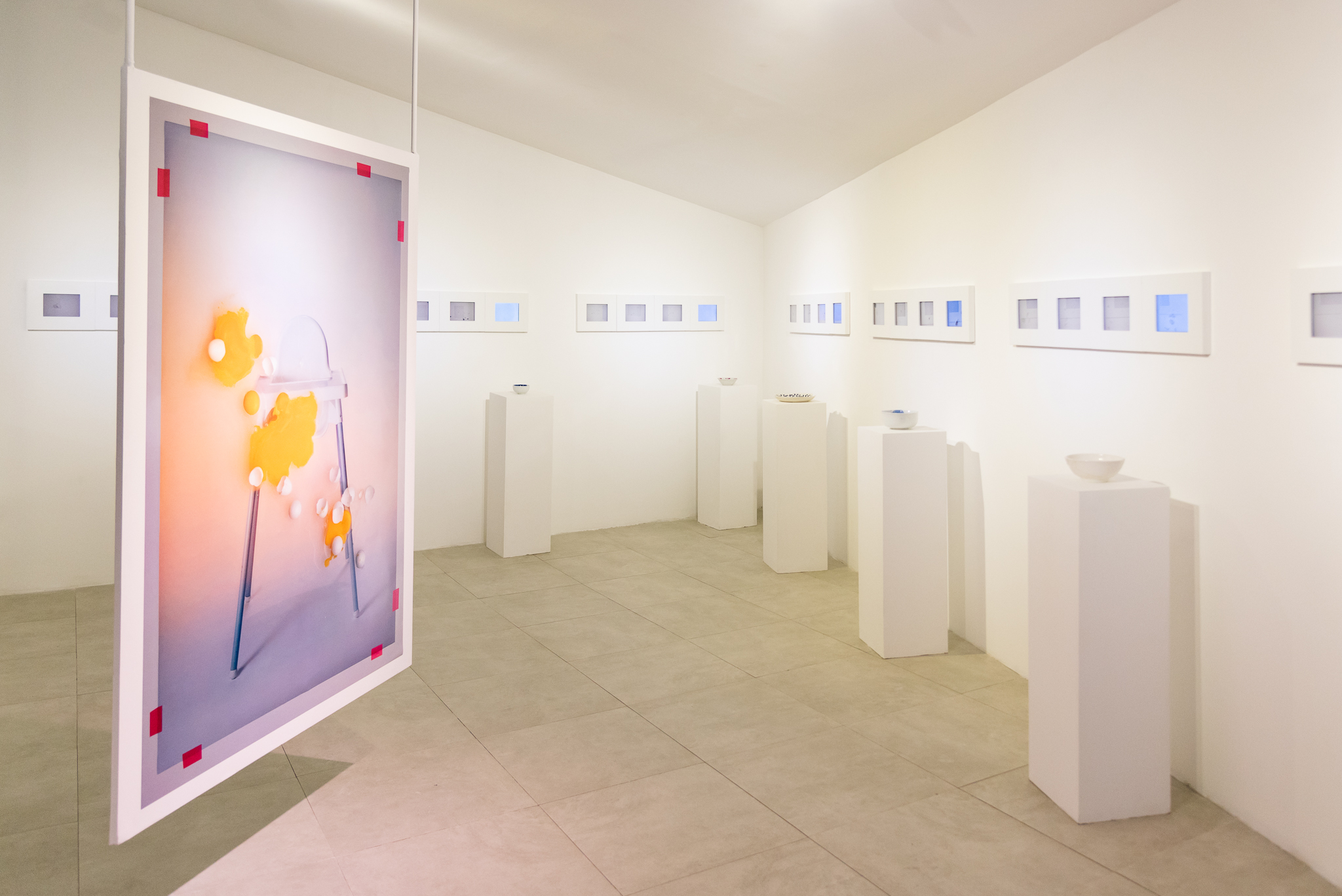 Installation view of 'My Marriage'. Image courtesy of The Factory.