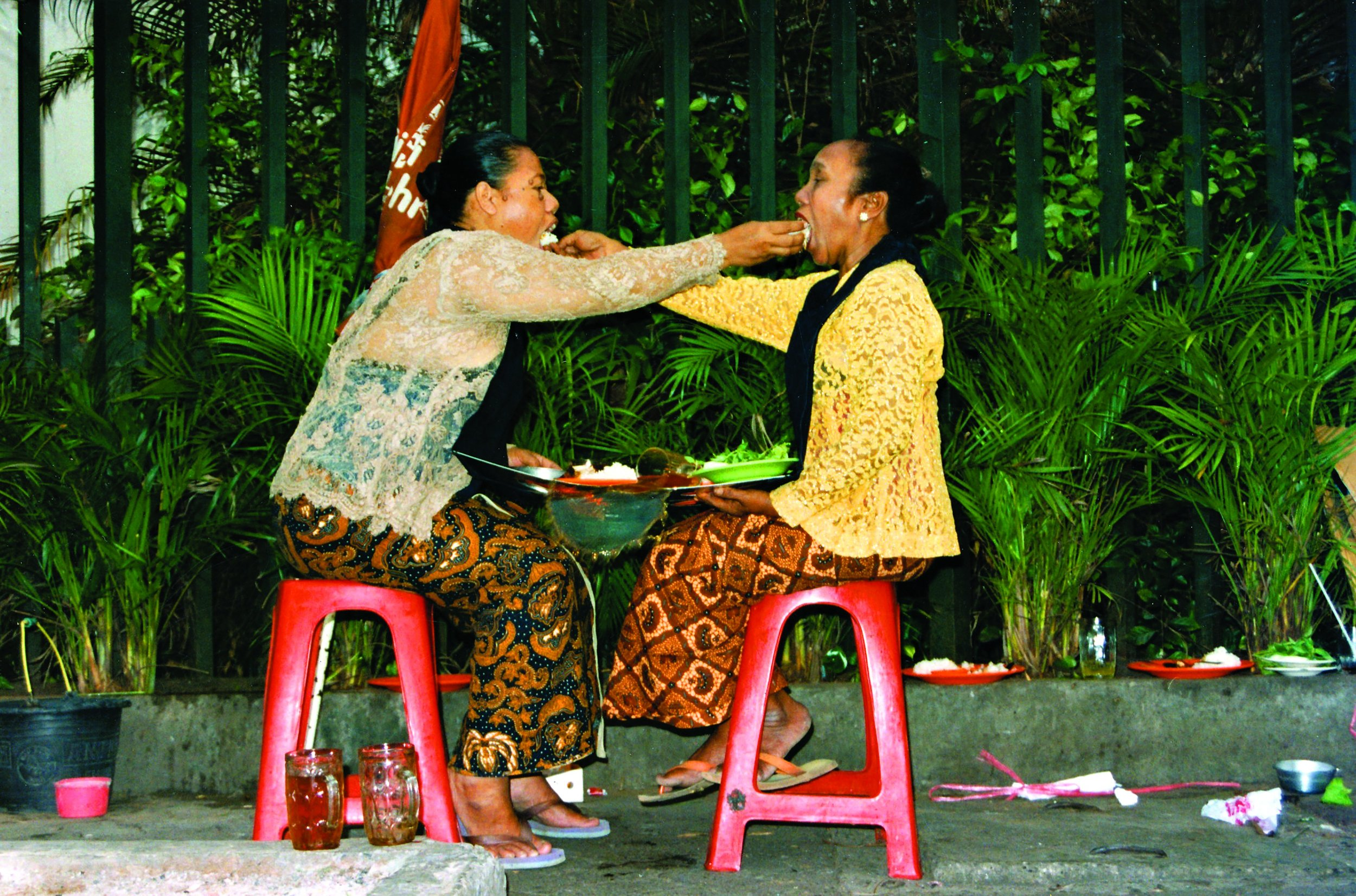 Mella Jaarsma, 'I Eat You Eat Me', 2001 – 2012, Performance in Jakarta, Indonesia, 2001. Collection of the artist. Image courtesy of the artist.