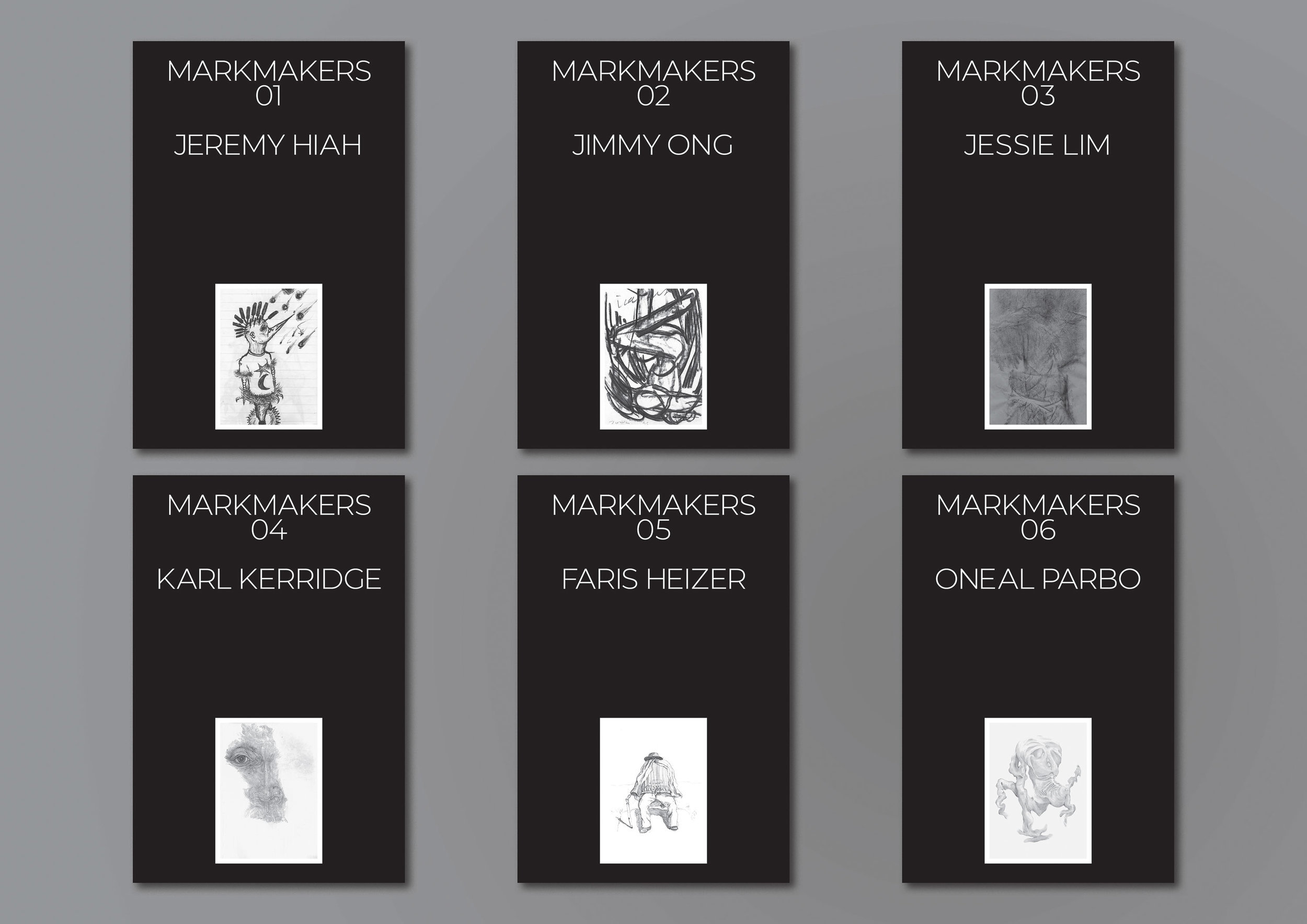 'MARKMAKERS' books series, 2019. Image courtesy of Coda Culture.