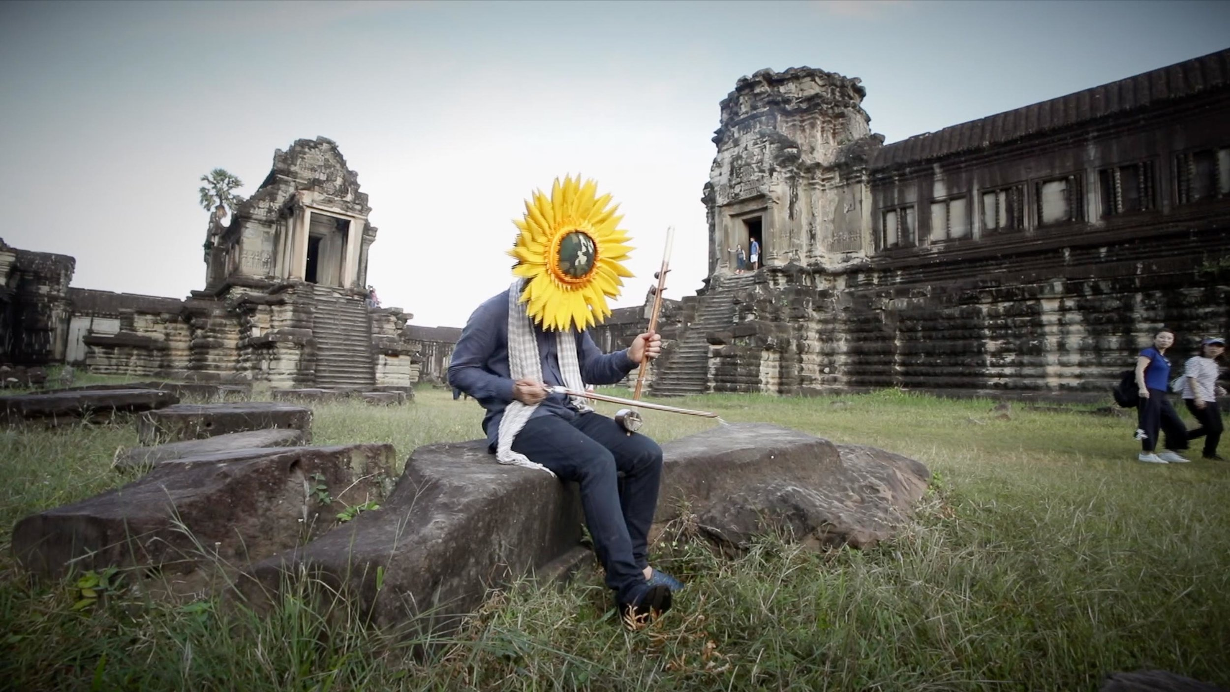 Svay Sareth, 'Beyond Sunflower' (video still), 2018, single-channel video, duration 2min 55 seconds, edition of three. Image courtesy of the artist and Richard Koh Fine Art.