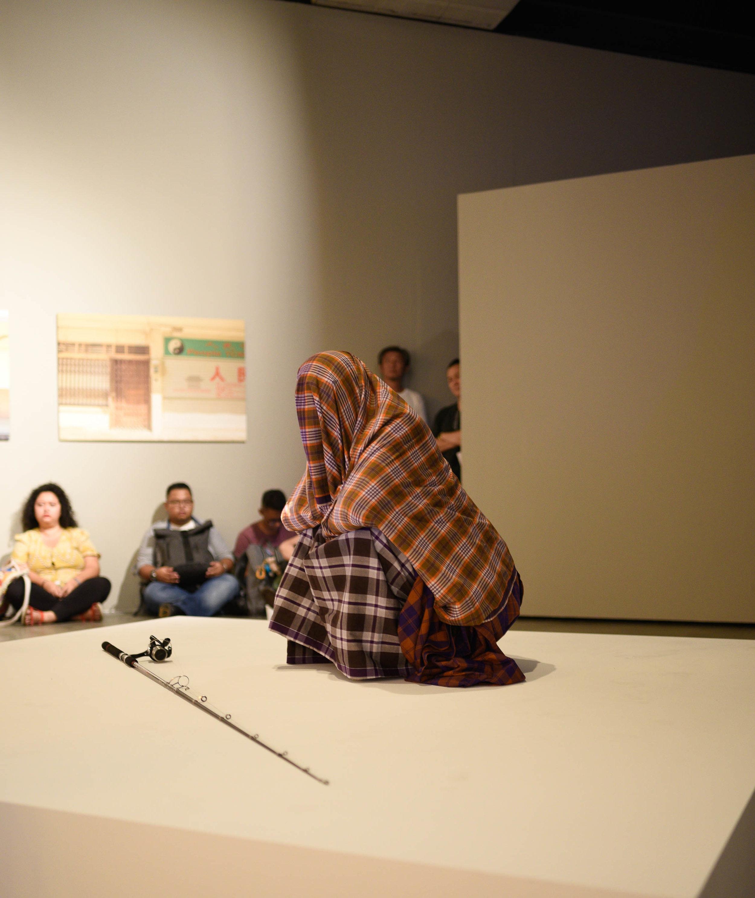 Farizi Noorfauzi, 'Getaran Jiwa', 2019, performance. Photo by Ivan Ong.
