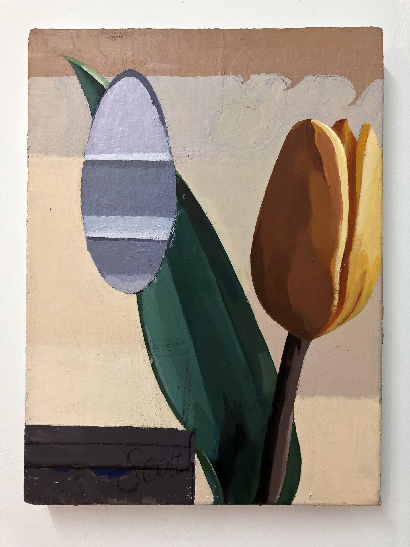 Leonard Wee, 'Scotts', 2018, acrylic on canvas, 31 x 41cm. Image courtesy of the artist.