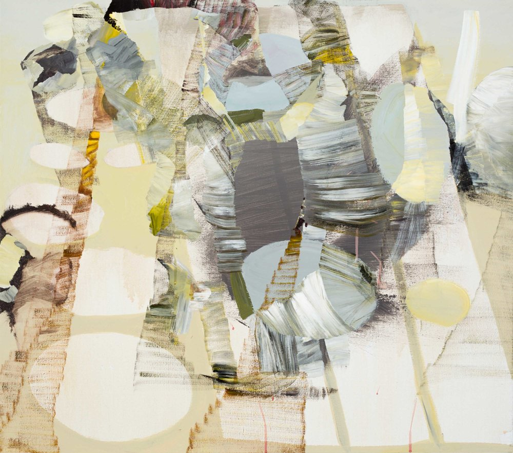 Ian Woo, 'Blind Spot', 2013, acrylic on linen, 75 x 85cm. Image courtesy of the artist and FOST Gallery.