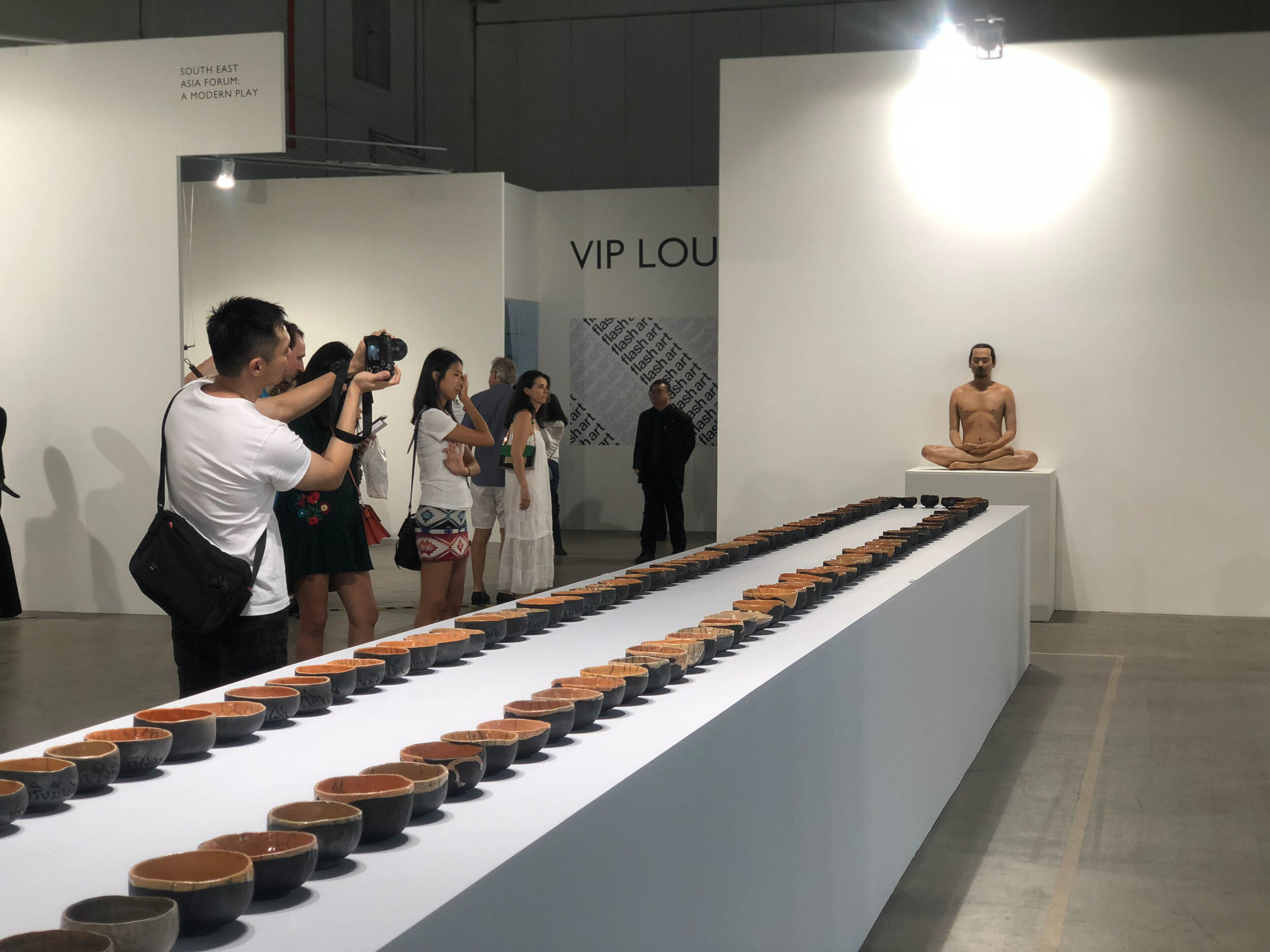 Kamin Lertchaiprasert, 'No Past No Present No Future', 2015, mixed media, dimensions variable. Presented at Art Stage 2018 (Project Stage). Photograph by Wannaporn Patanasatienkul.