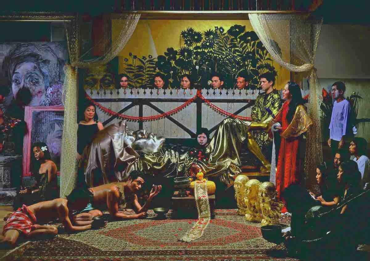 Manit Sriwanichpoom, 'Chatchai Puipia's Funeral, 2008, lambda print, 120 x 170cm. Image courtesy of A+ Works of Art.