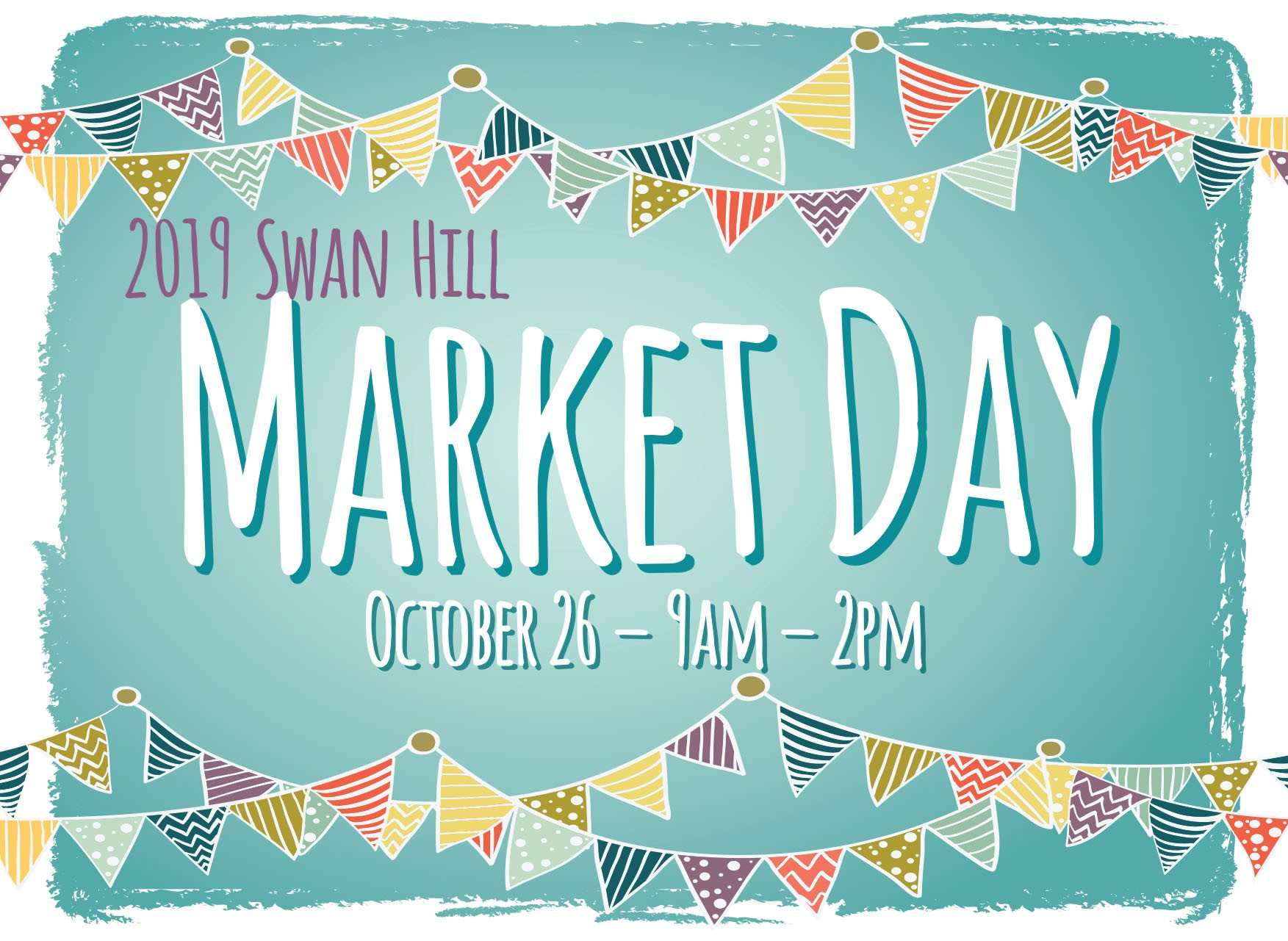 2019 Market Day   - Swan Hill Market Day is on again this October! Click below for more information and registration forms for Stall Holders.