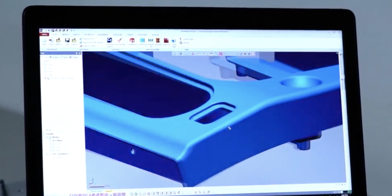 3D model poleđine sjedala zrakoplova, izvor: Emirates