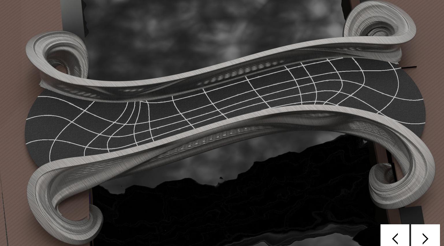 Render MX3D-ovog mosta, izvor: mx3d.com