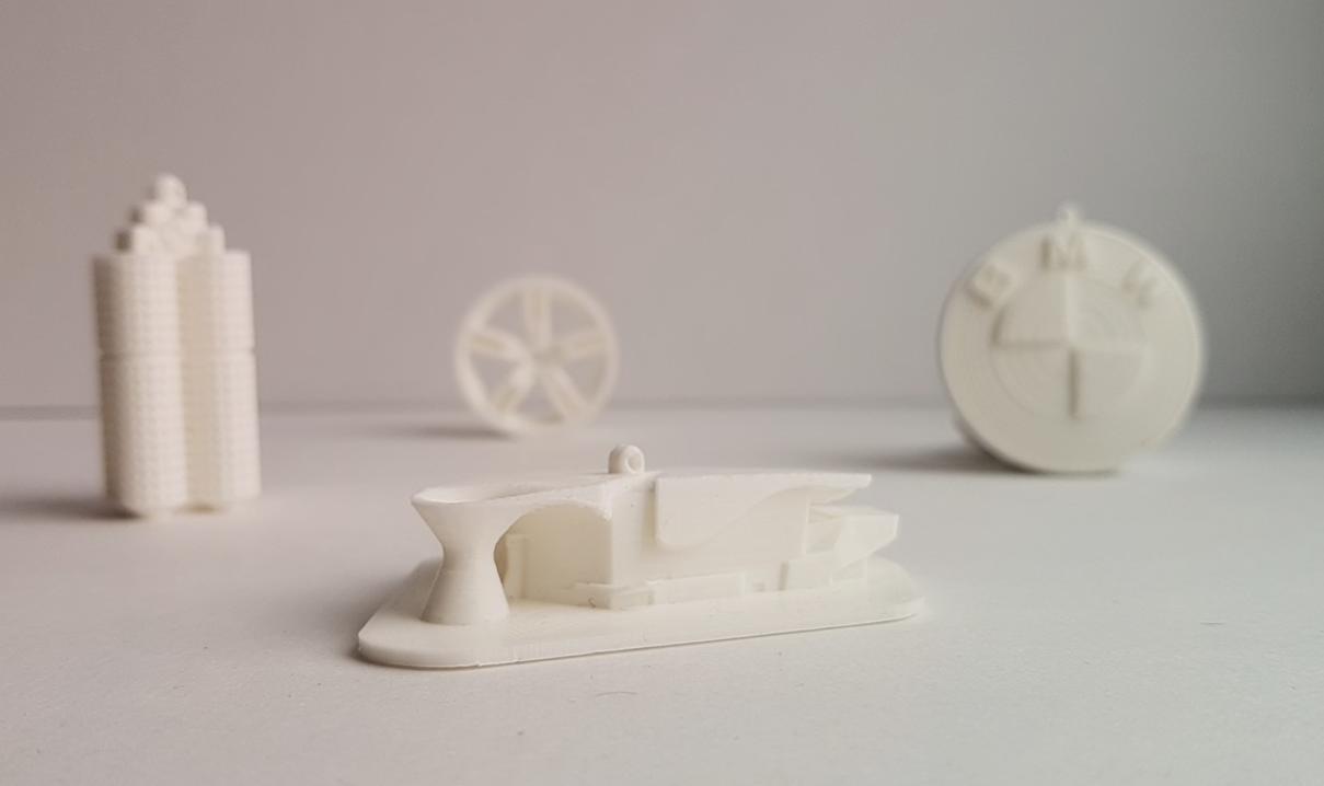 Besplatni 3D modeli za Isis na kućnom FDM 3D pisaču, izvor: BMW Group