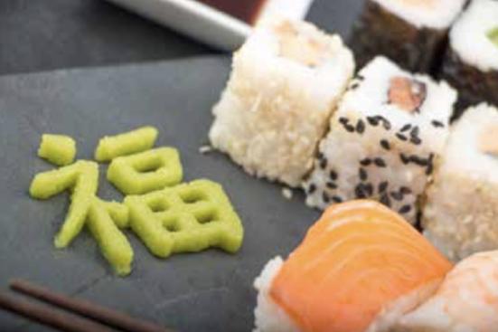 Pasta (wasabi) - Procusini je kompatibilan sa raznim pastama, a međuostalom i wasabi pastom.
