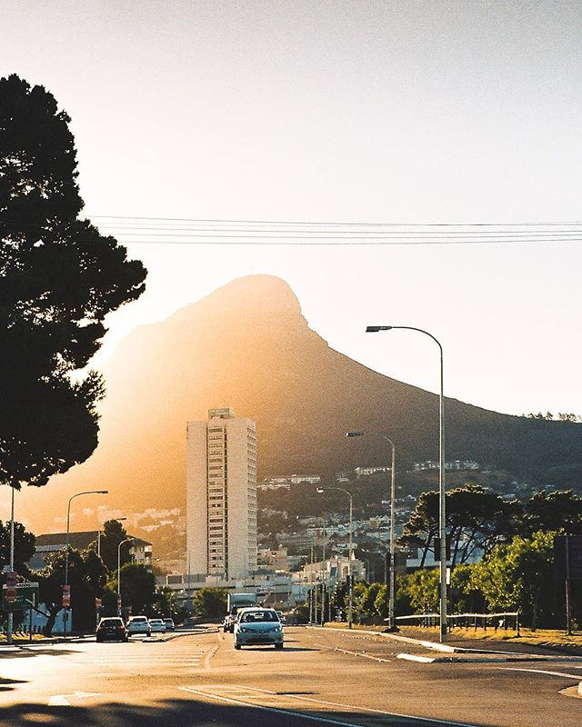 Golden Cape Town 😍 Another moment caught on film 🎞 This past week has been super busy work wise,  but at the same time super motivating! It was the first time @danielsjensen and I took on a video project together, and it has been so much fun! More of that to come hopefully! 🙌🏼