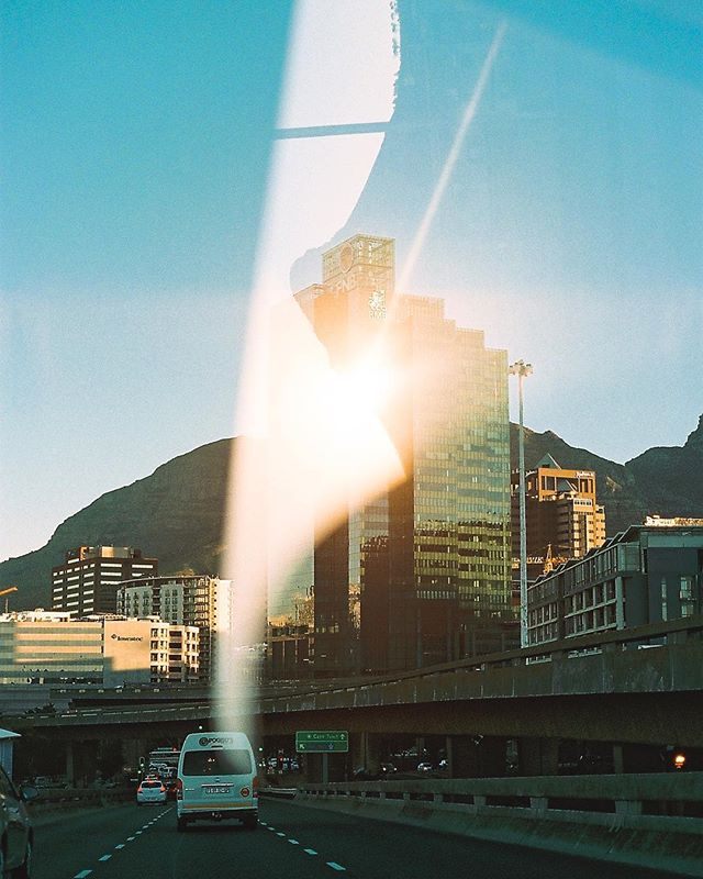 An actual #kodakmoment 🙏🏼☀️ This is not an effect nor is it a filter on some random app. This is a double exposure caught on my Canon AE-1 film camera. The best thing about it? It was a total accident👌🏼
