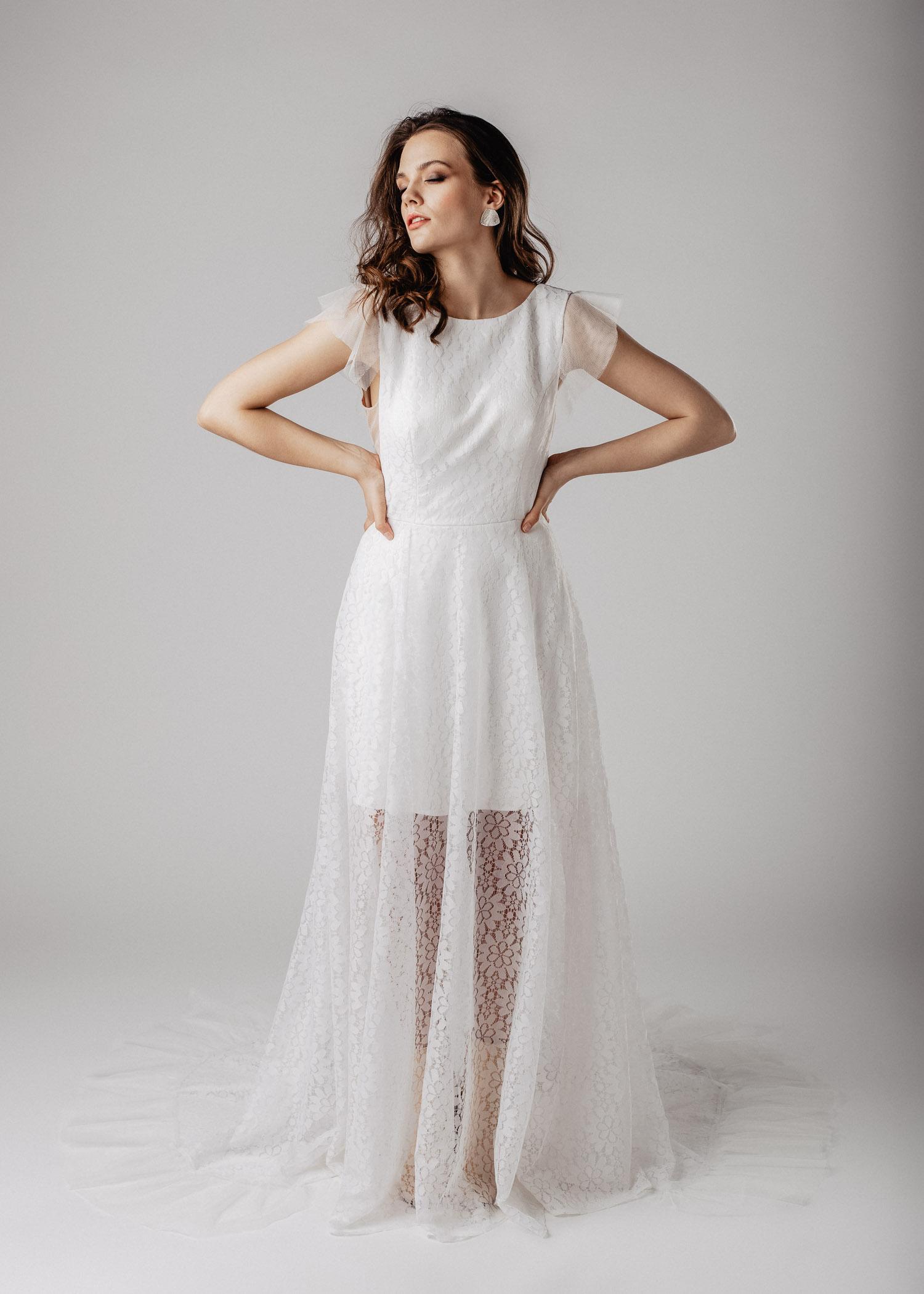 STOCKHOLM wedding gown