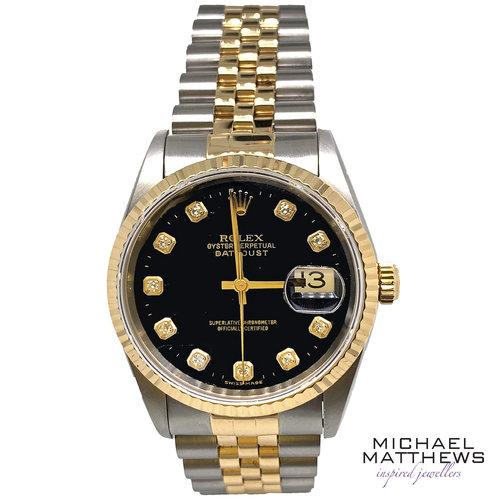 31b5ee2202f Rolex DateJust Watch — Michael Matthews Jewellery - Bournemouth ...