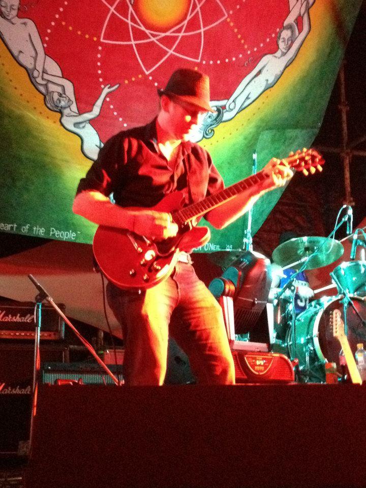 At Mission Evolve Festival - Mission Beach, QLD - Eddie Skiba Band, 2012