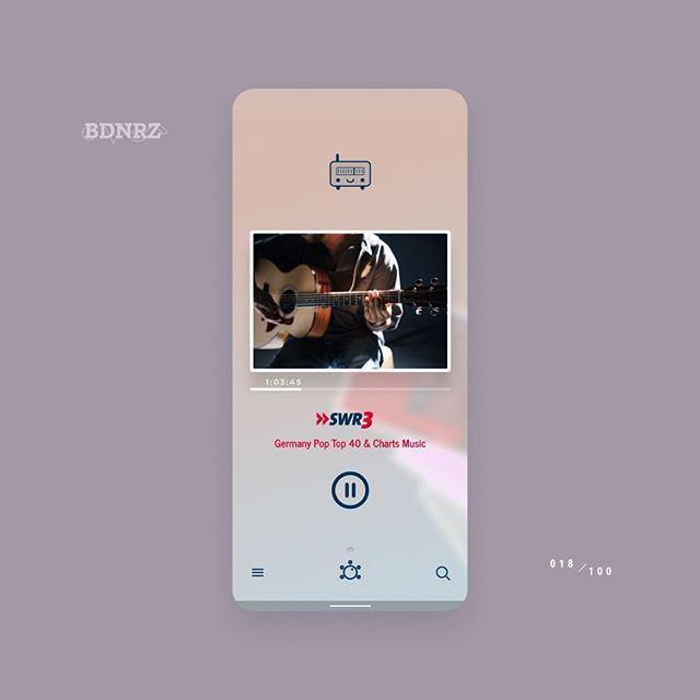 #redesign 018/100 - ReadyO  Check out the comparison with the original #ui design here: https://dribbble.com/shots/6780053--randomredesign-018  #designchallenge #redesign #mobile #flutter #ios #android #figma #crossplatform #multiplatform #appdesign #materialdesign