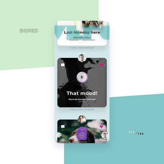 #redesign 023/100 - @verotruesocial Check out the comparison with the original #ui design here: https://dribbble.com/shots/6847116--randomredesign-023  #designchallenge #redesign #mobile #flutter #ios #android #figma #crossplatform #multiplatform #appdesign #materialdesign #uiinspiration #ui design