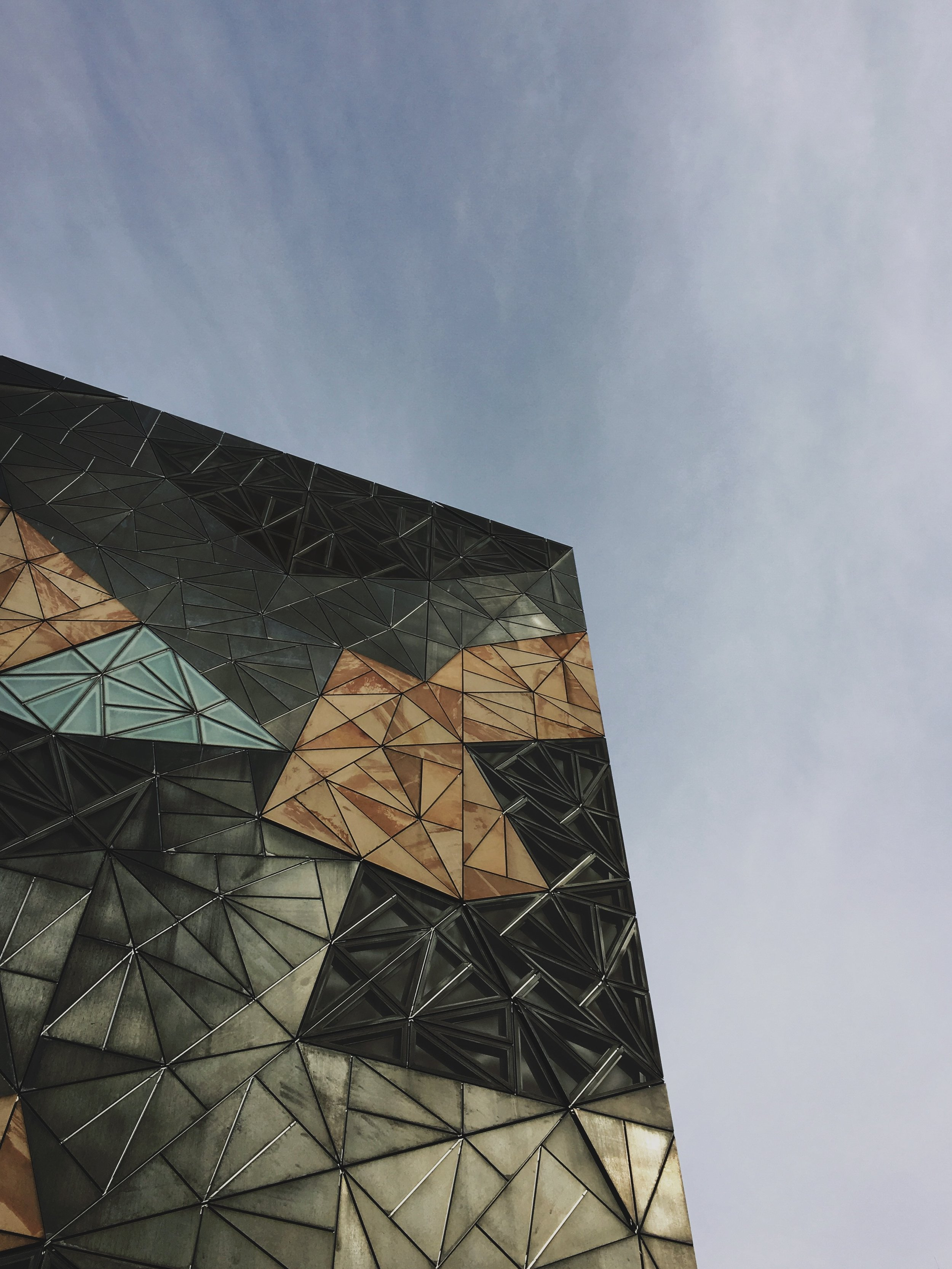 Federation Square, designed by Lab Architecture. Photo by Jon Tyson.