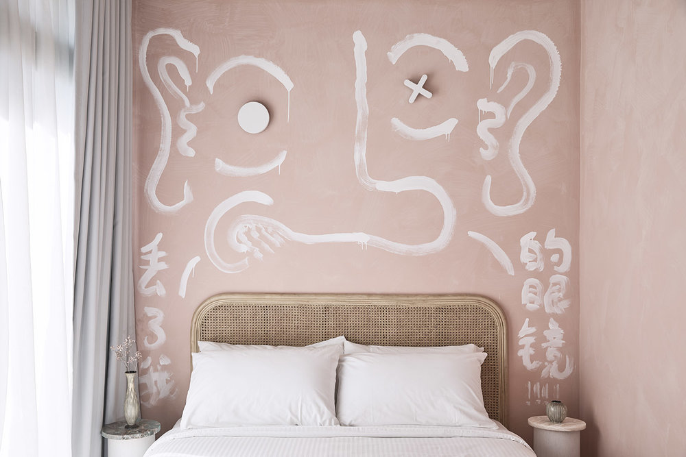 Pictured: The Collectionist Hotel, room designed by Pattern Studio.