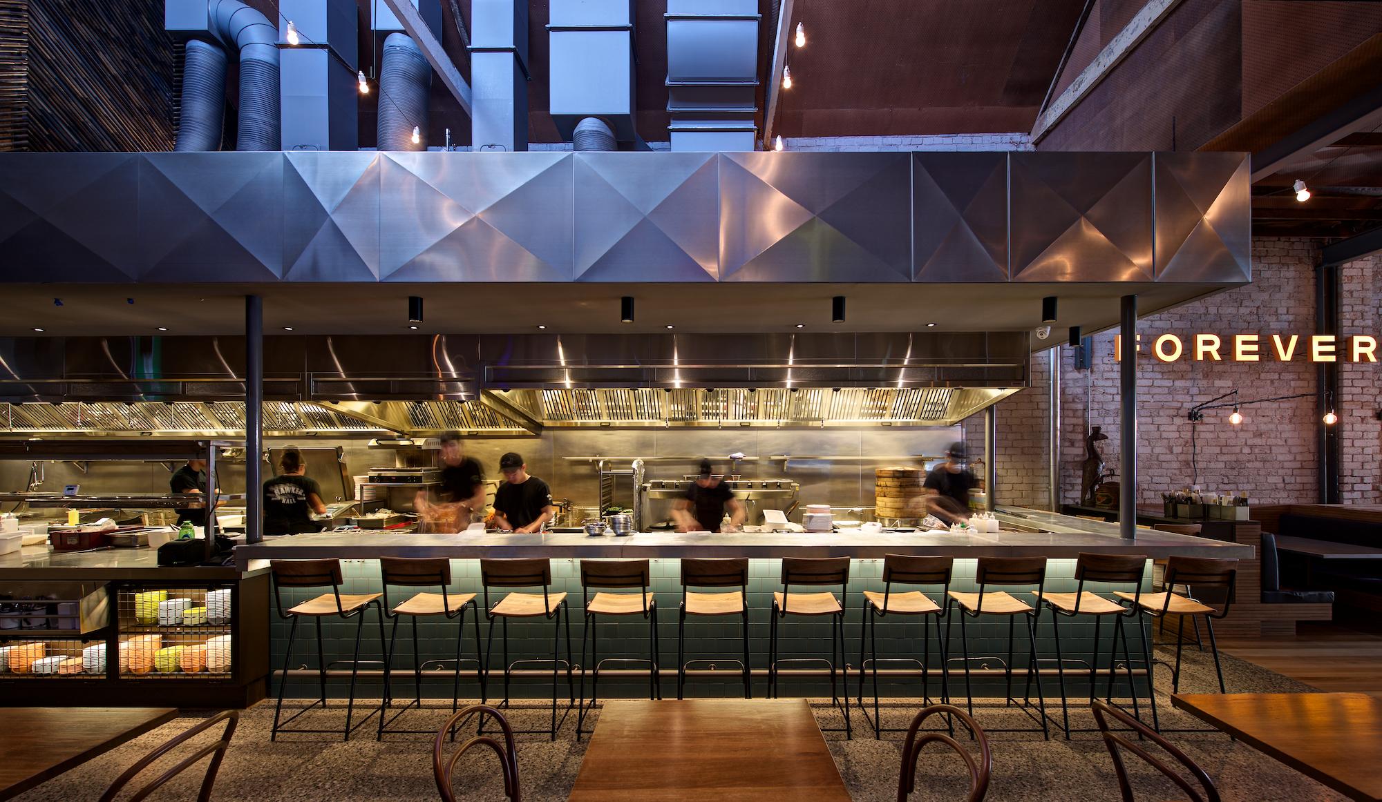 Hawker Hall by Craig Tan Architects.