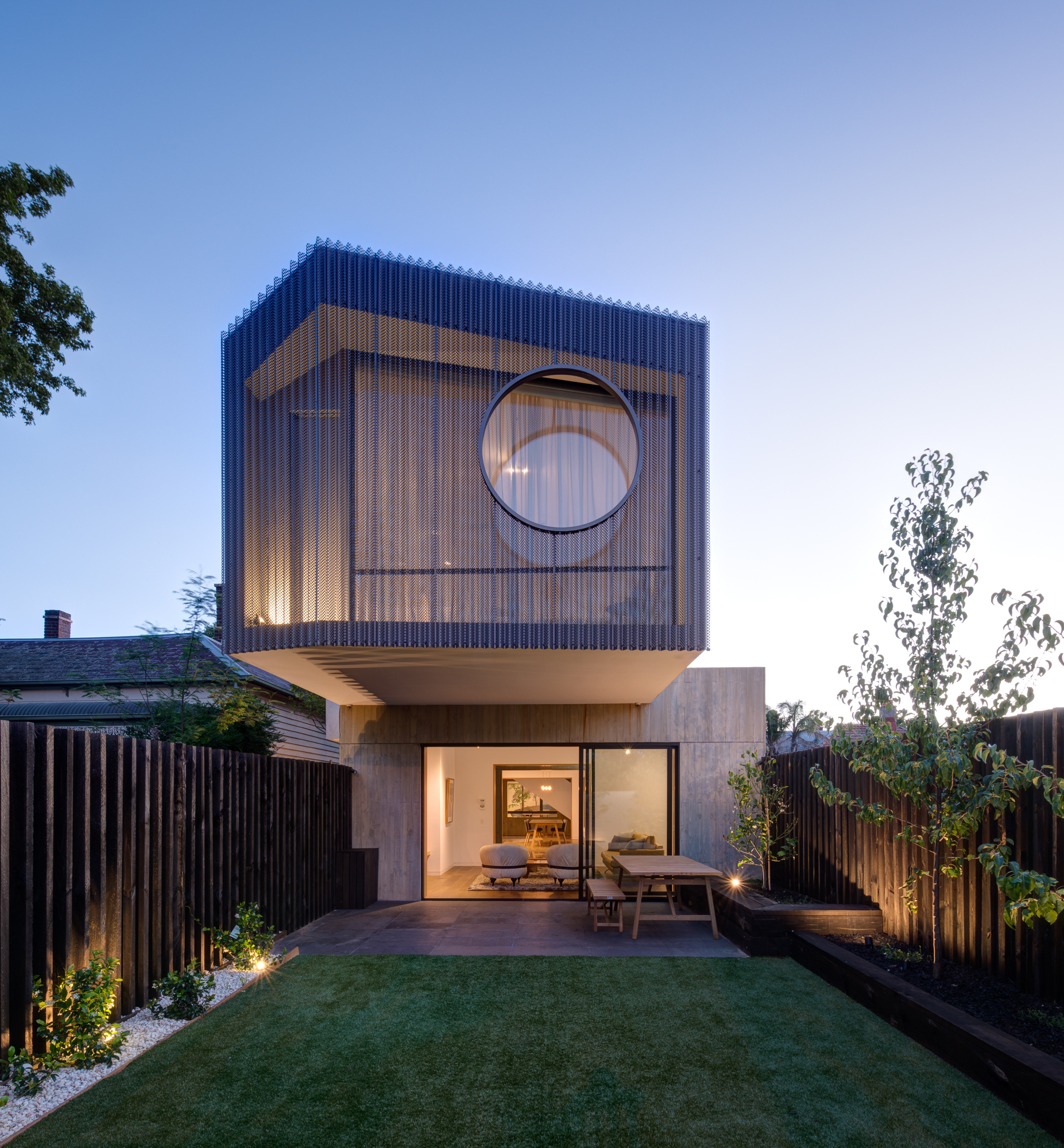 Stepping Stone House by Craig Tan Architects.