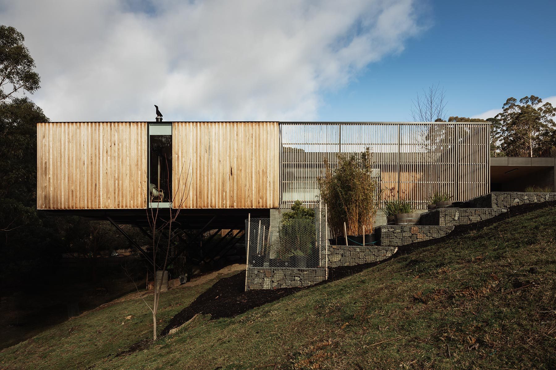 South Hobart Residence by Room 11 Architects.