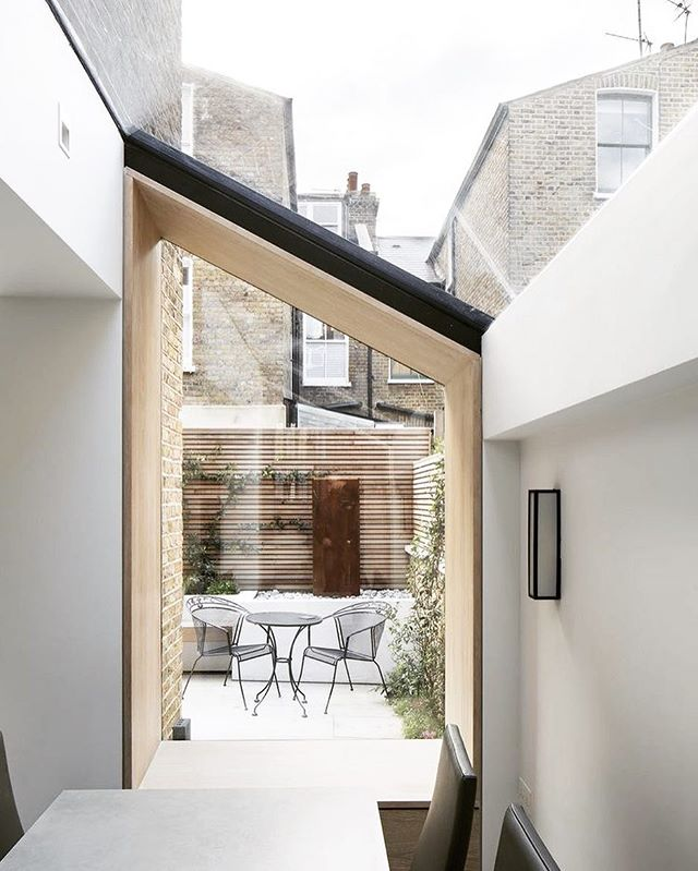 Shape your glazing to your roof pitch.  PCarchitects.co.uk  CALL US FOR A FREE CONSULTATION  #inspiration #inspiredinteriors #orangeinterior #simplicity #architecture #birminghamarchitecture #midlands #homedecor  #makeahouseahome #architect #birmingham #birminghamarchitect #residentialarchitect #localarchitect #houseextension #homealterations #granddesigns #housedecor #houseinspiration #homestyle #granddesignslive2018 #granddesignslive  #amazingextensions #minimal #interiordesign #simplicity #glassdesign #pitchedroof #window #windowideas