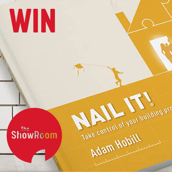 "WIN one of 5 copies of Adam Hobill's book ""Nail It"""