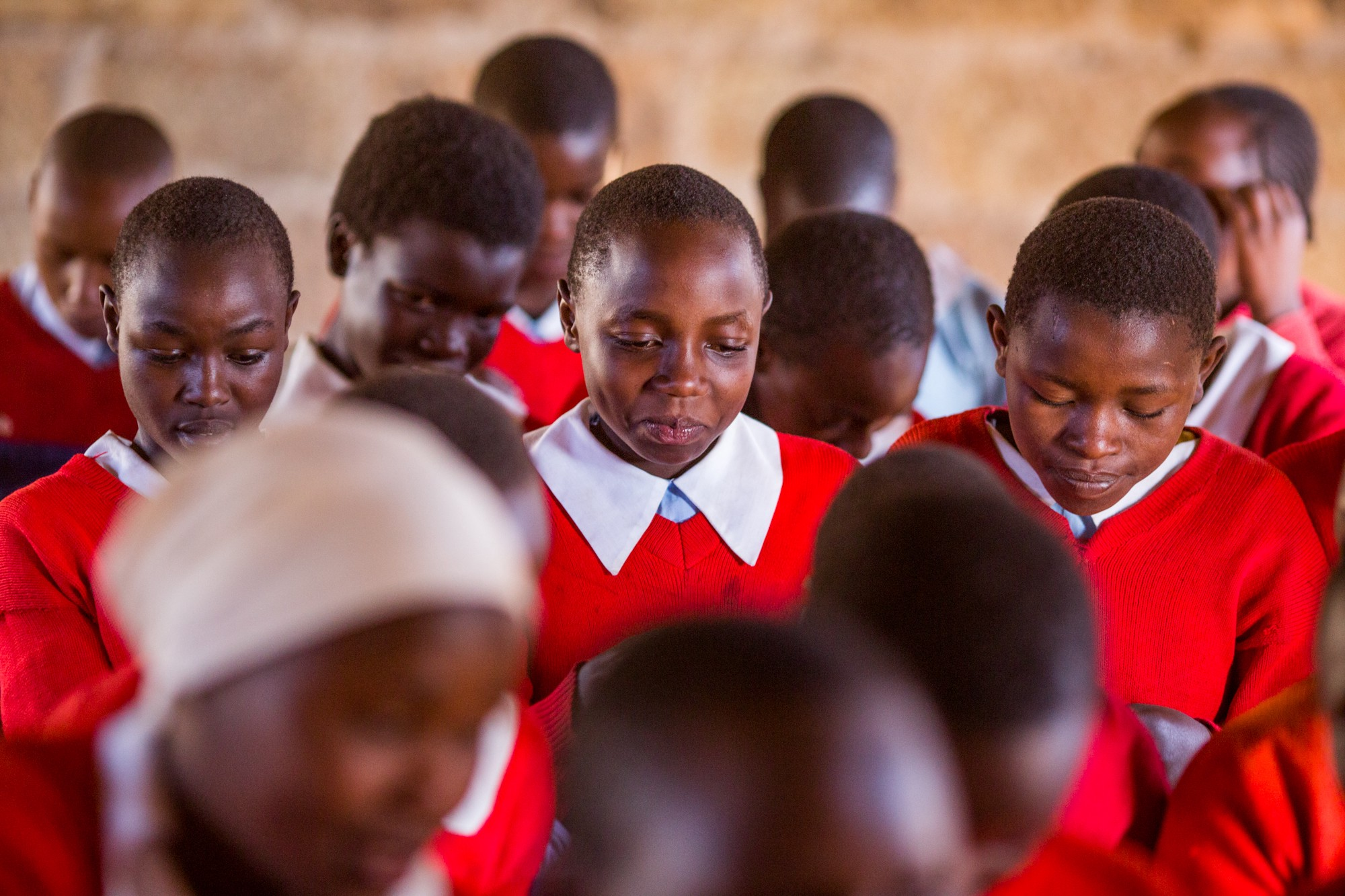 In developing countries around the world, 2 out of every 5 girls will miss up to five days of school each month when they're on their period.